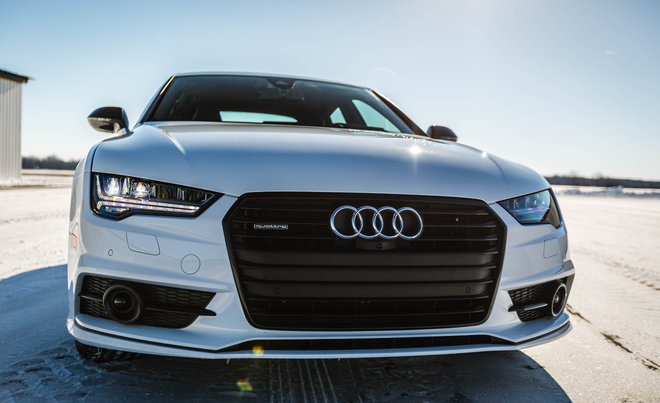 2017 Audi A7 Exterior Front End (Photo 7 of 24)