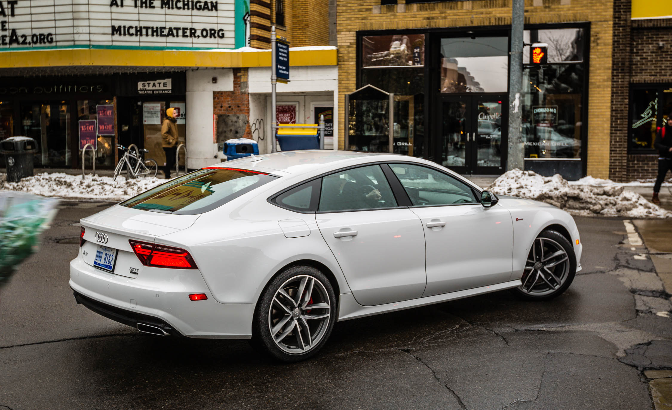 2017 Audi A7 Exterior Side And Rear (Photo 13 of 24)