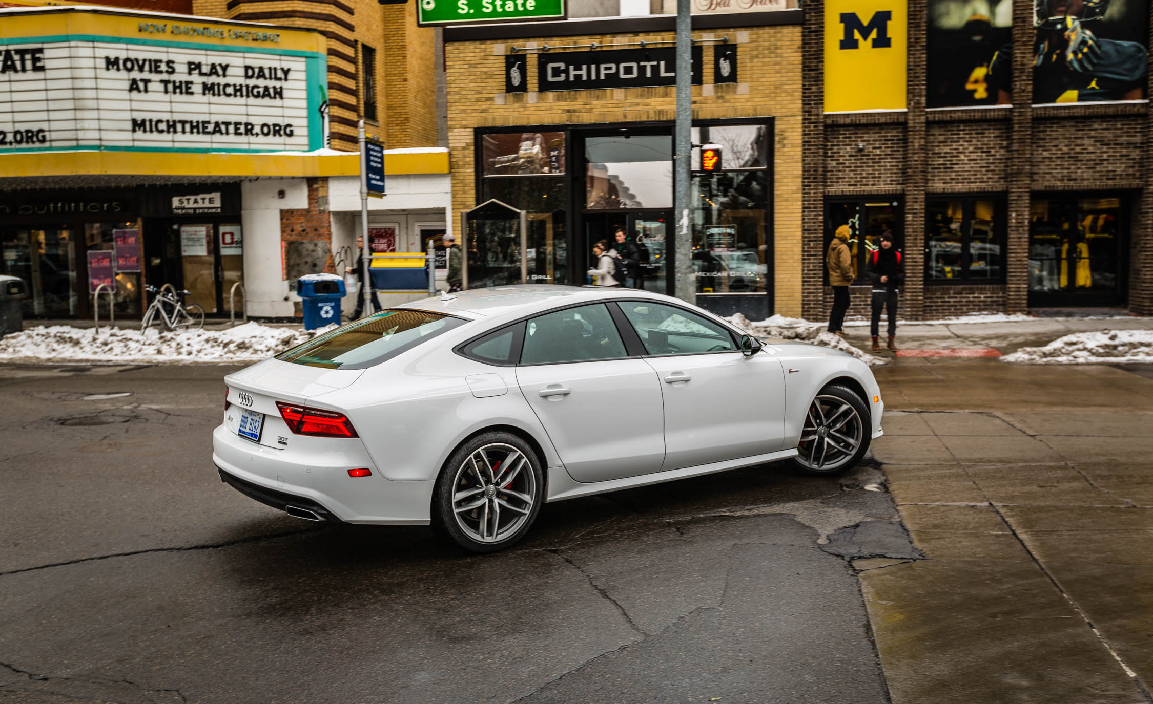 2017 Audi A7 Exterior Side (Photo 12 of 24)