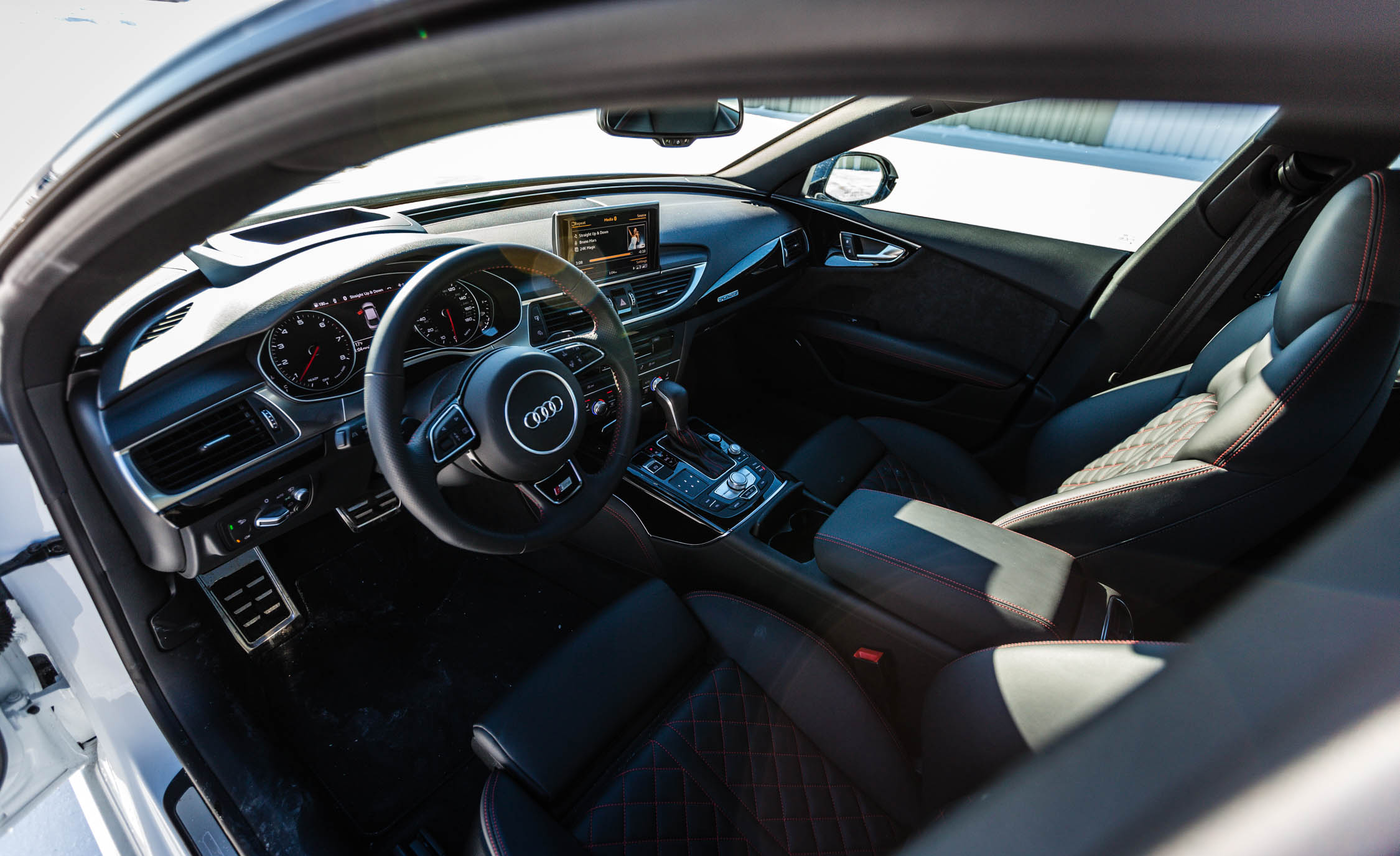 2017 Audi A7 Interior (Photo 17 of 24)