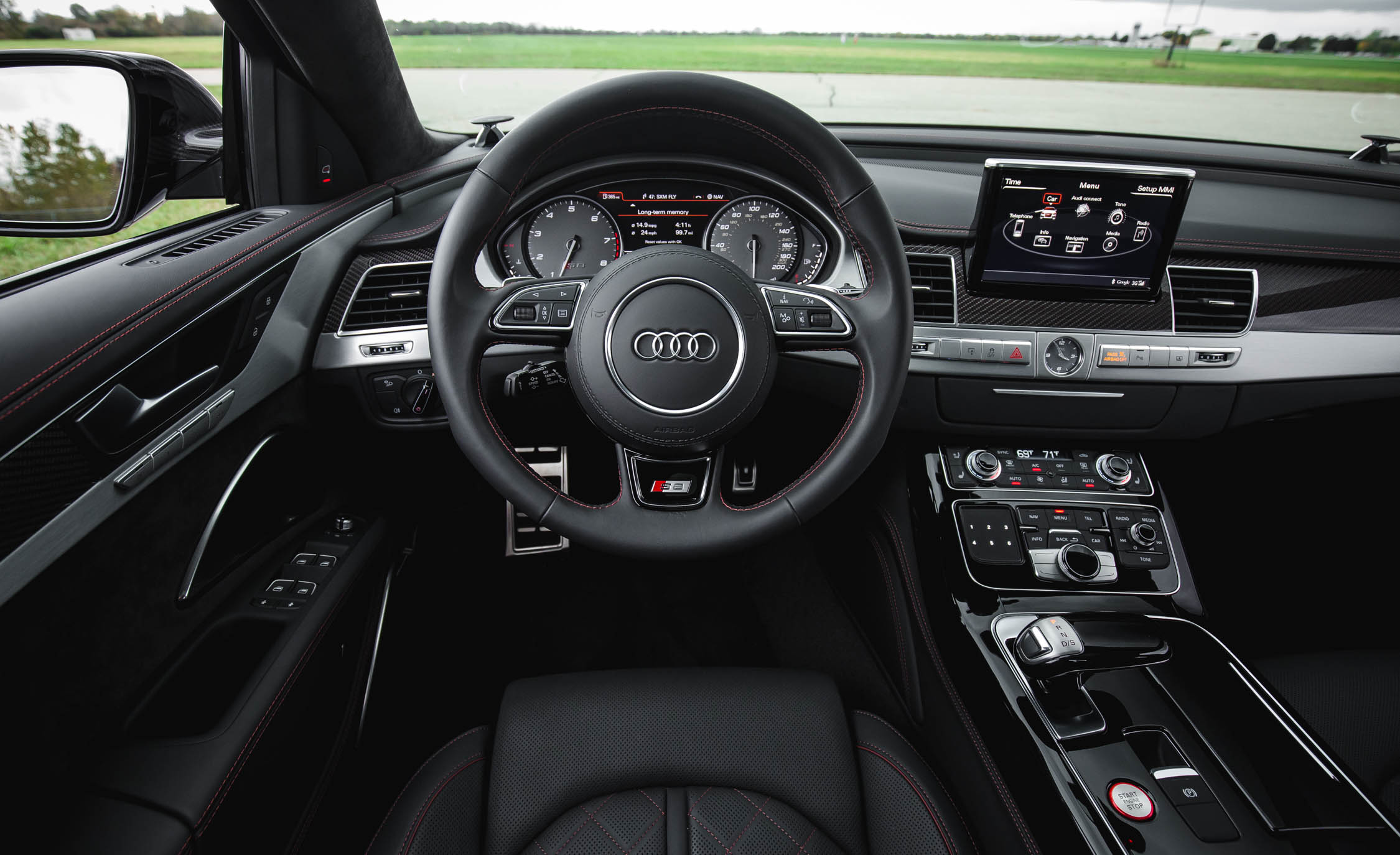 2017 Audi S8 Plus Interior Cockpit Steering And Dash (Photo 14 of 36)