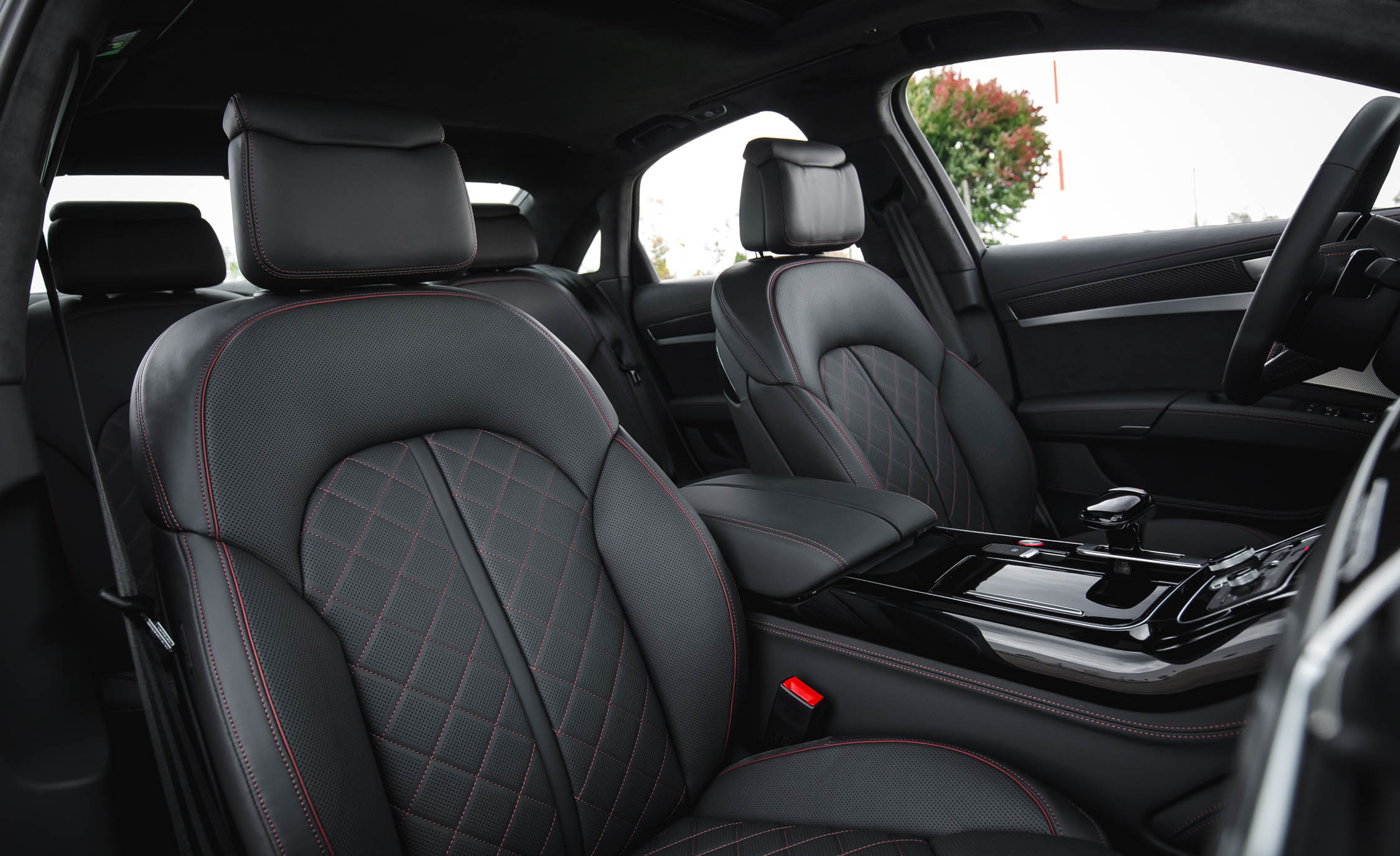 2017 Audi S8 Plus Interior Seats Front Passenger (Photo 18 of 36)