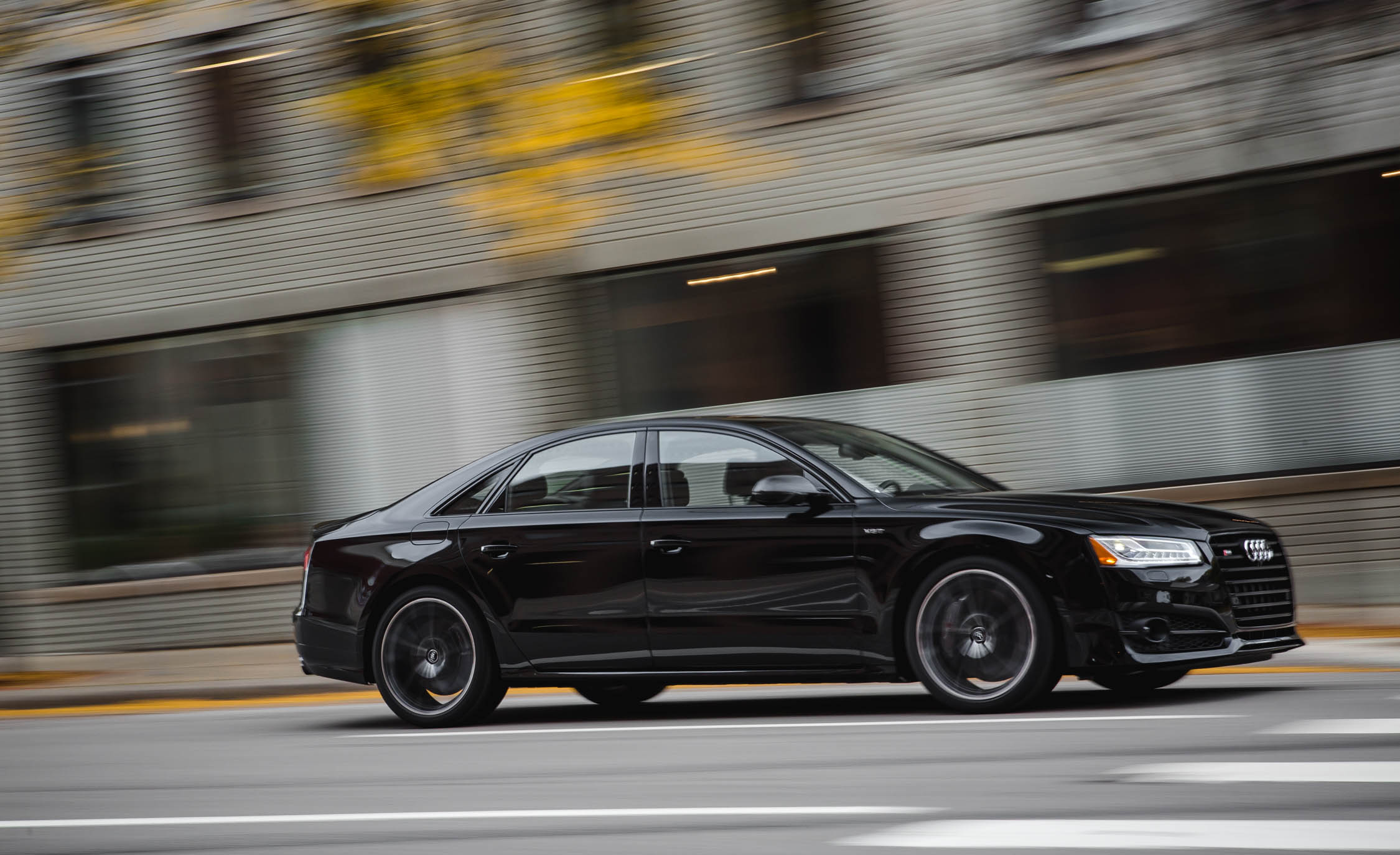 2017 Audi S8 Plus Test Drive Black (Photo 30 of 36)