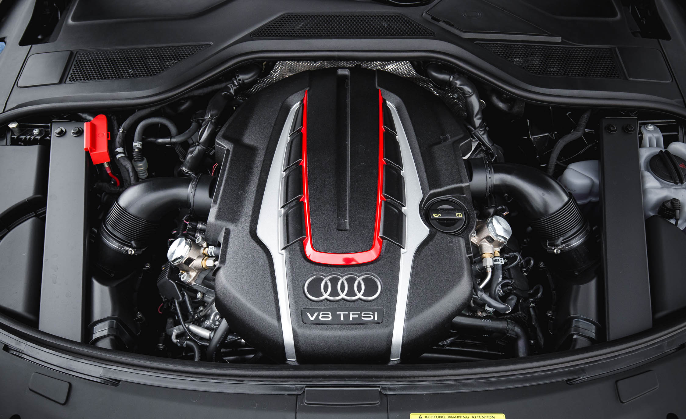 2017 Audi S8 Plus View Engine (Photo 36 of 36)