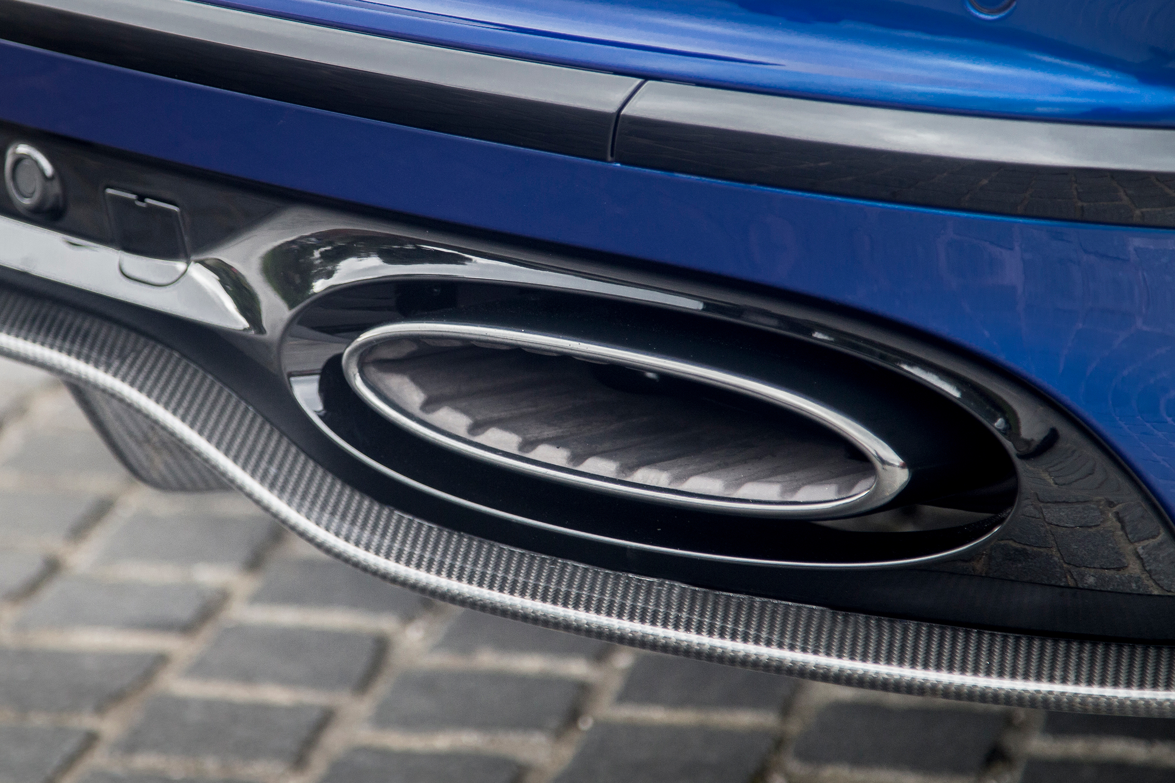 2017 Bentley Continental Supersports Blue Exterior View Exhaust Muffler (Photo 16 of 31)