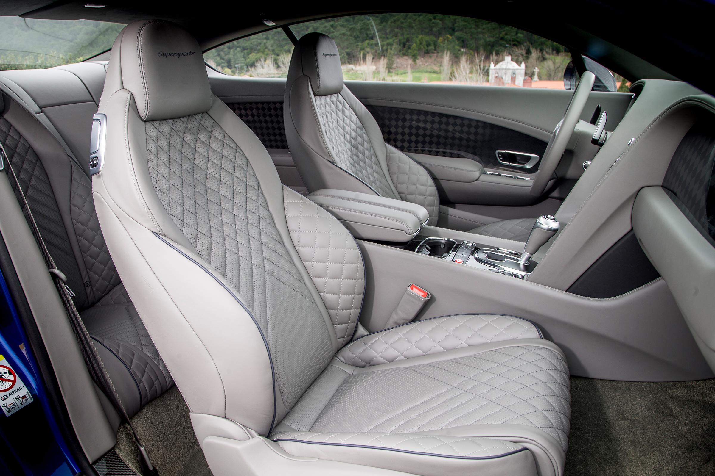 2017 Bentley Continental Supersports Interior Seats Front (Photo 26 of 31)