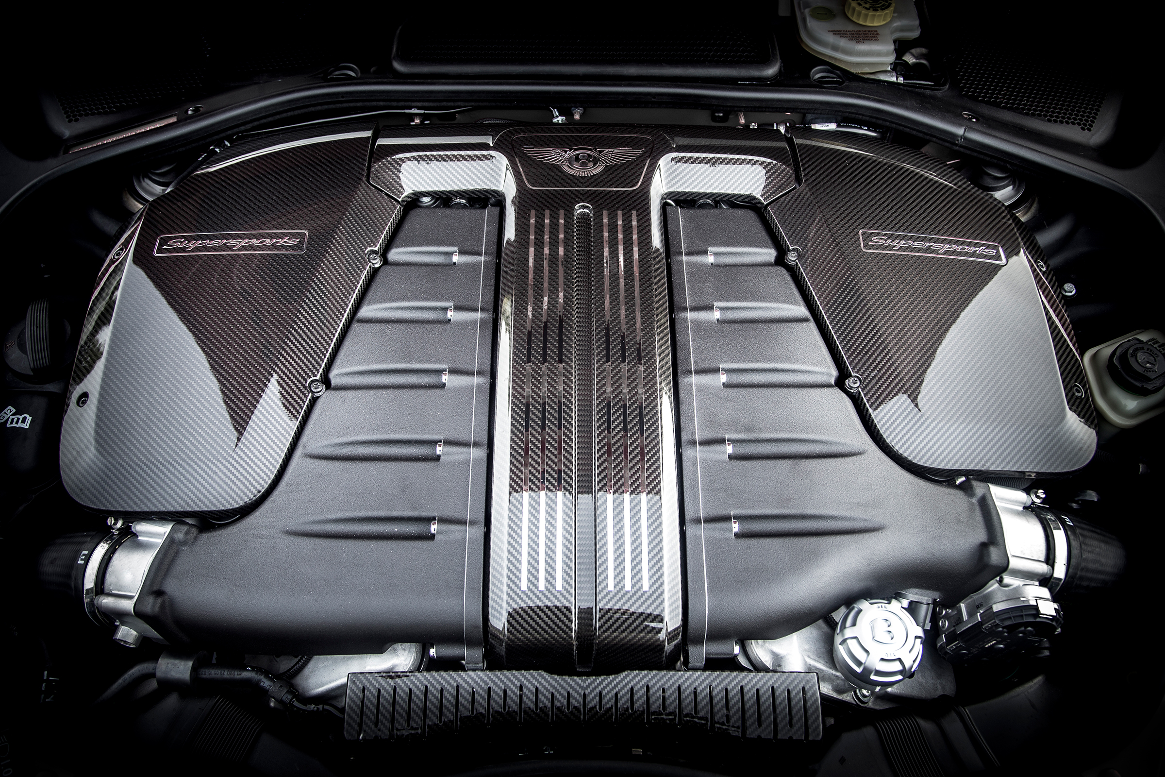 2017 Bentley Continental Supersports View Engine (Photo 30 of 31)