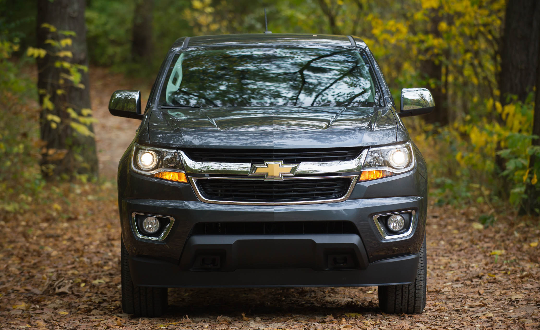2017 Chevrolet Colorado Exterior Front (View 37 of 41)