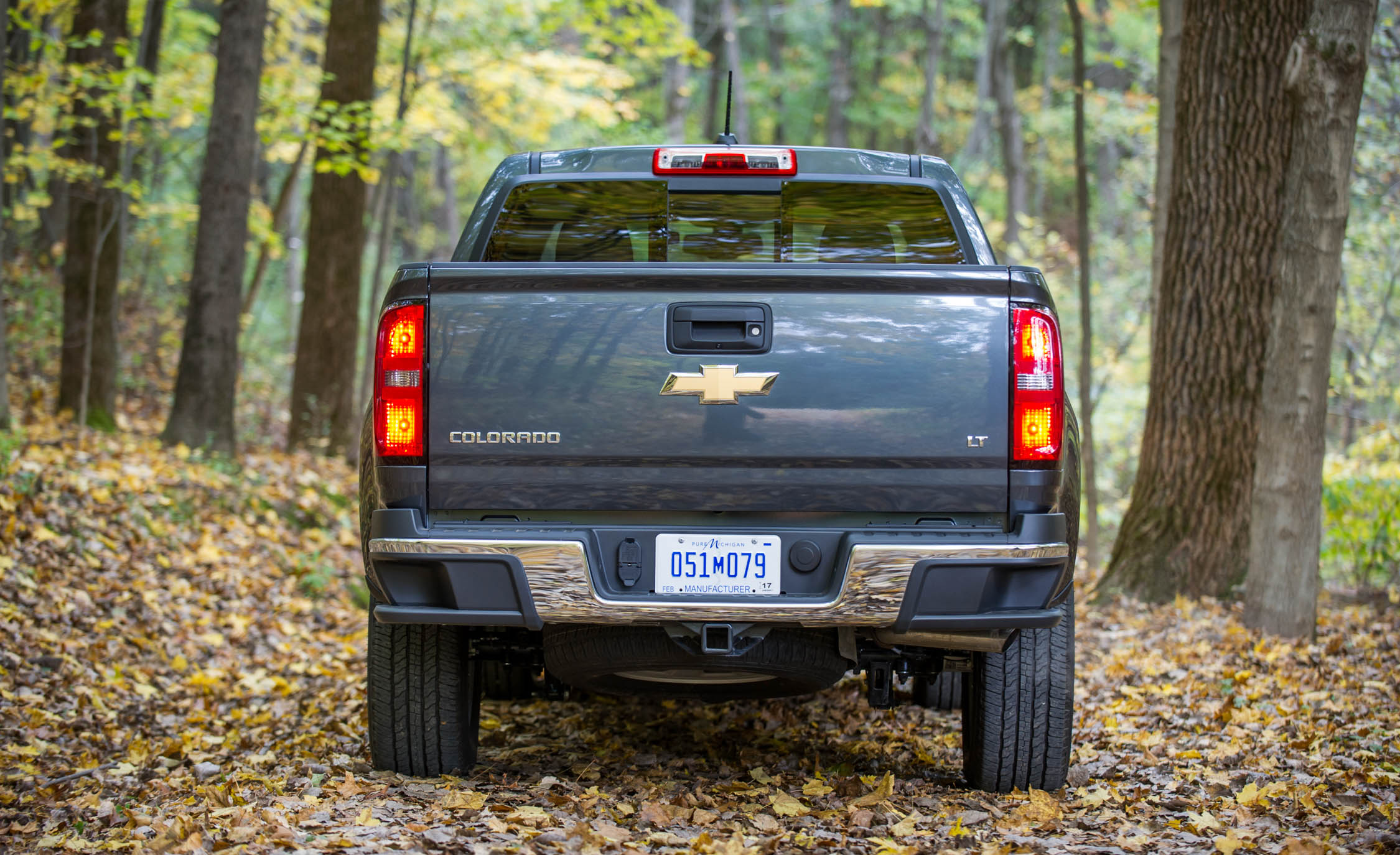 2017 Chevrolet Colorado Exterior Rear End (View 35 of 41)