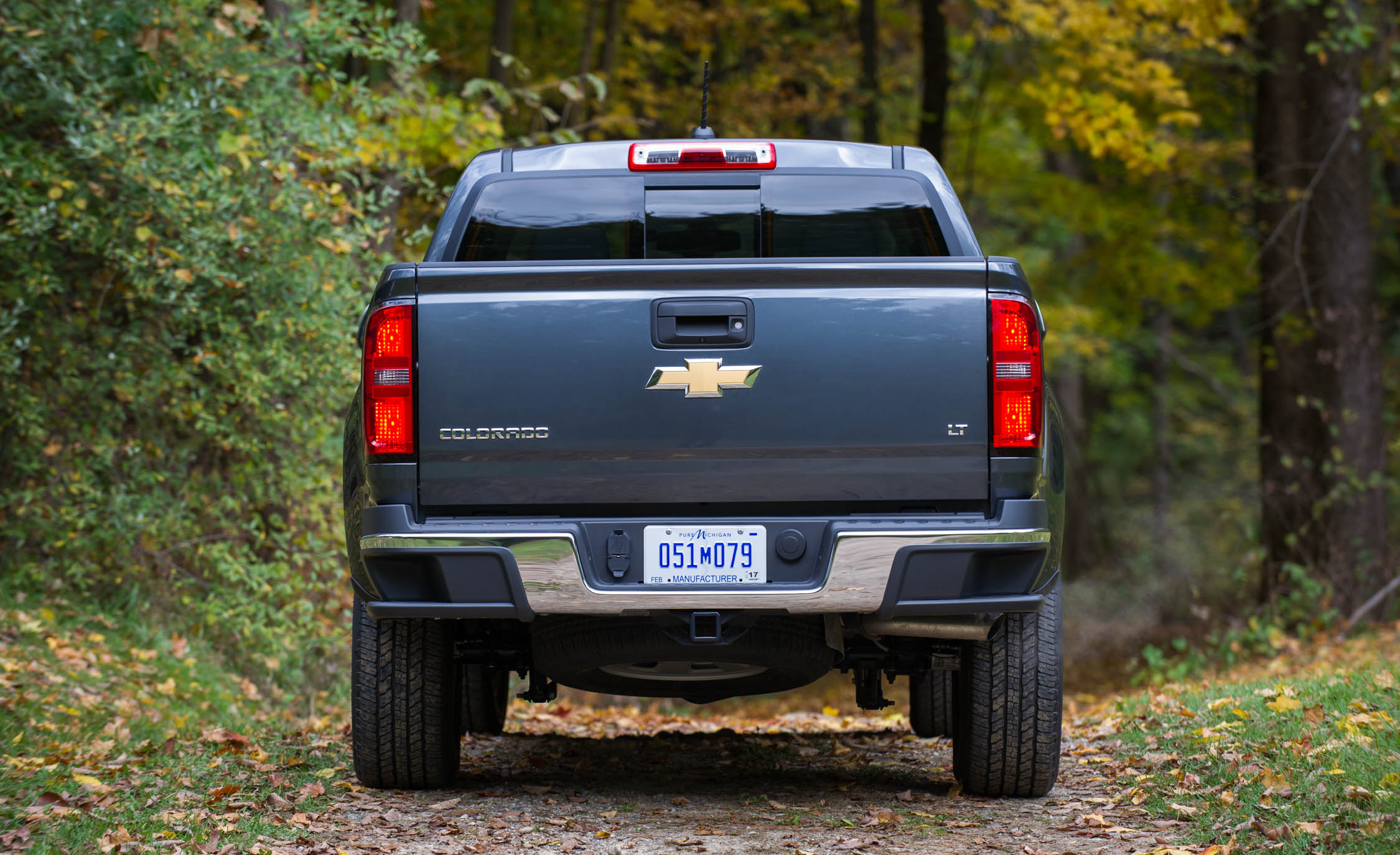 2017 Chevrolet Colorado Exterior Rear (View 36 of 41)