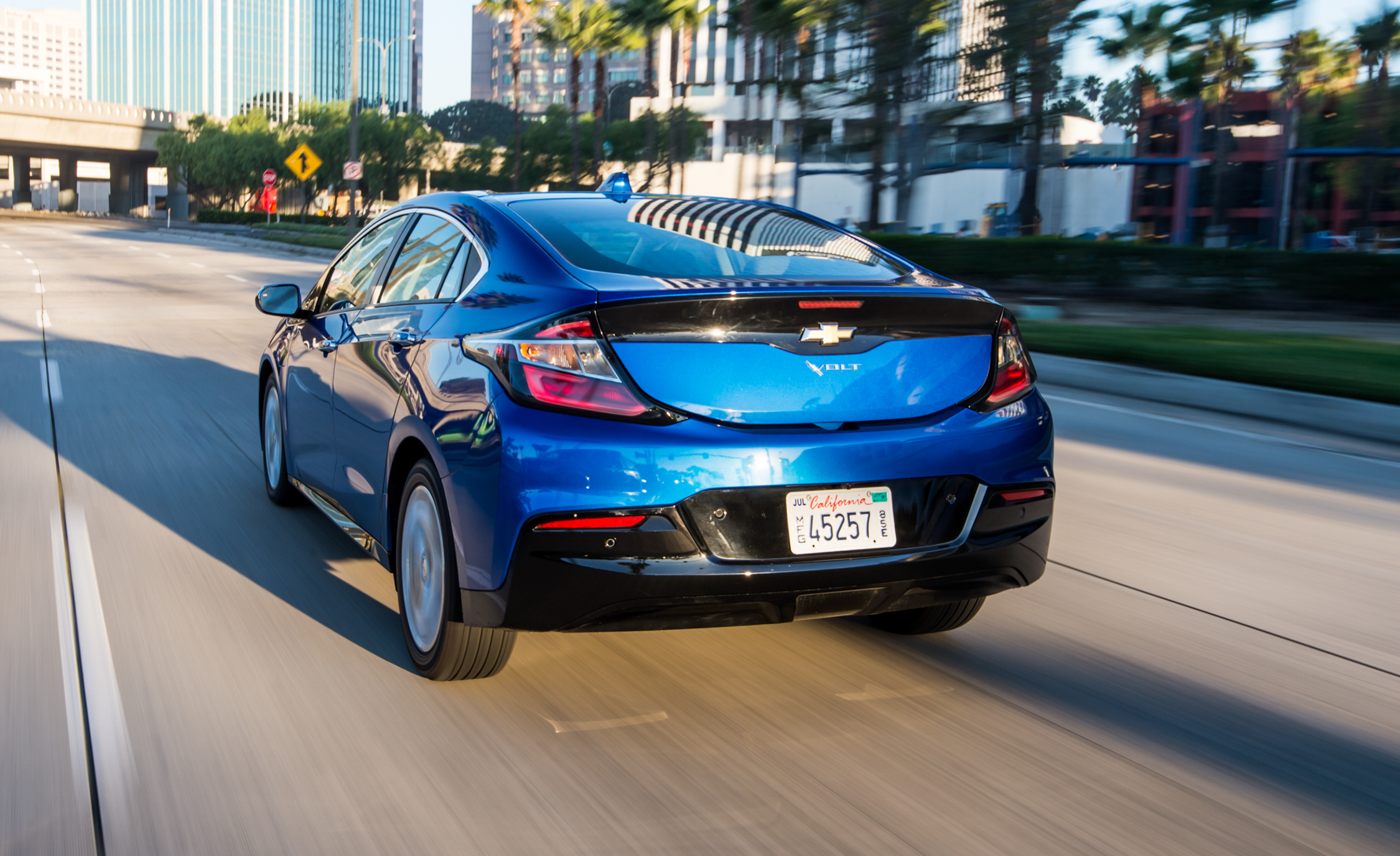 2017 Chevrolet Volt Test Drive Rear View (View 2 of 16)