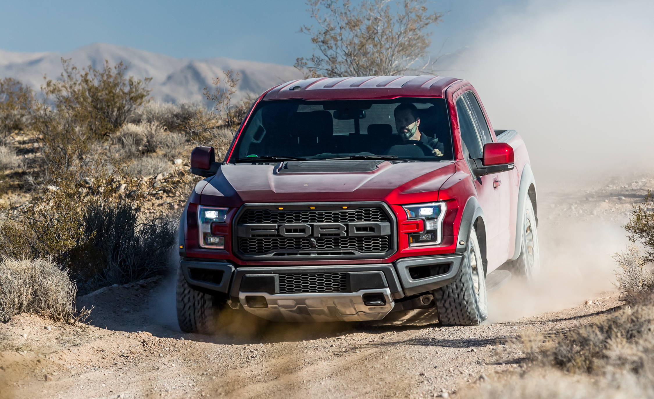 2017 Ford F 150 Raptor SuperCab Test Drive Front View (View 37 of 47)