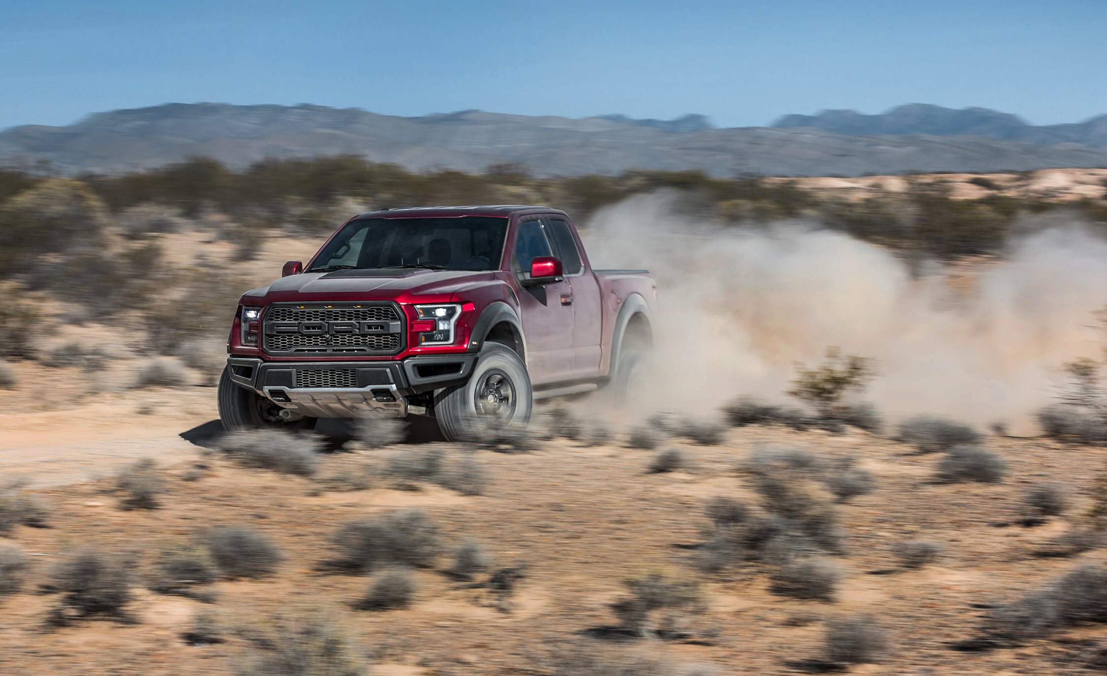 2017 Ford F 150 Raptor SuperCab Test Drive Offroad (View 38 of 47)