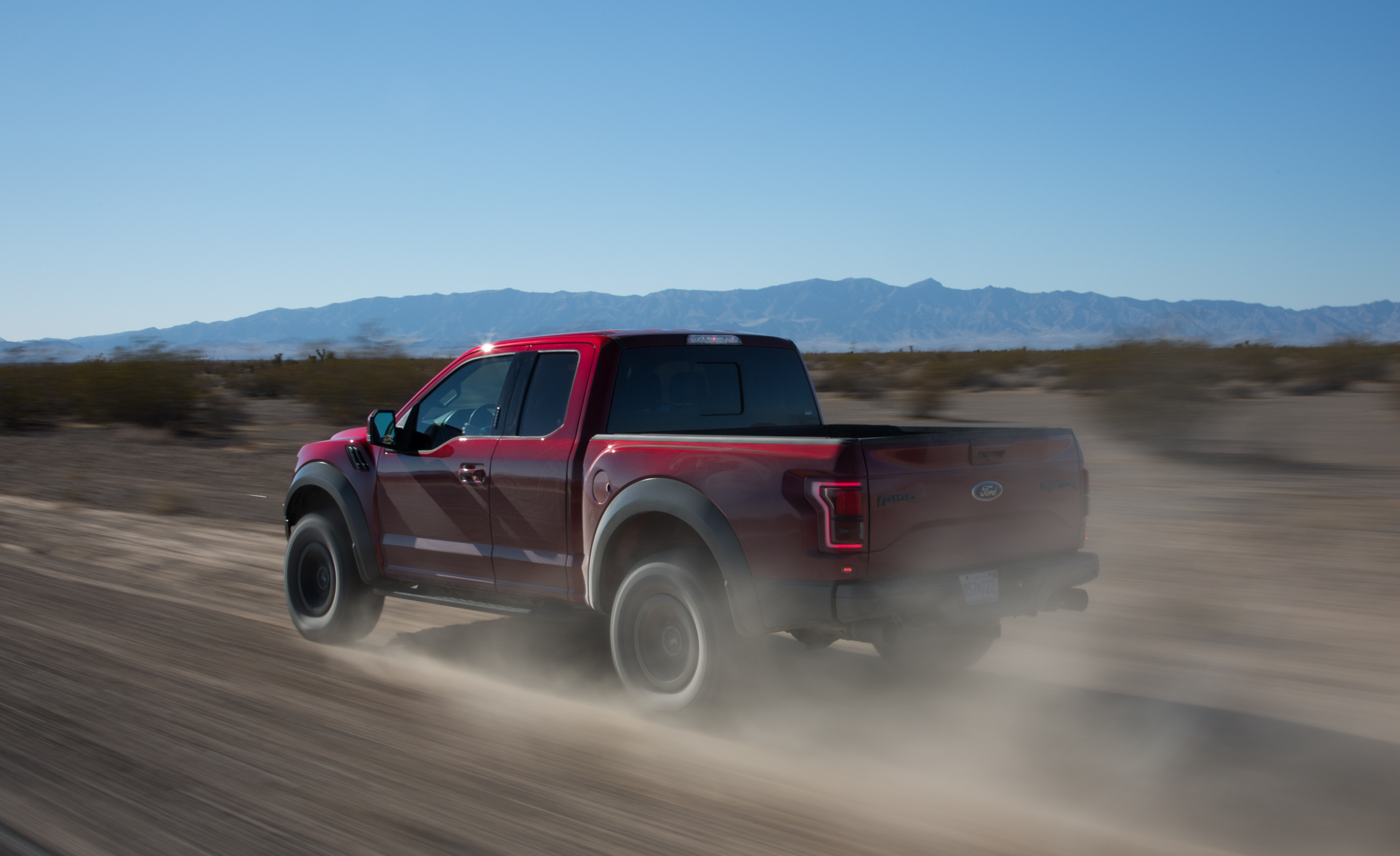 2017 Ford F 150 Raptor SuperCab Test Drive Rear And Side View (View 39 of 47)