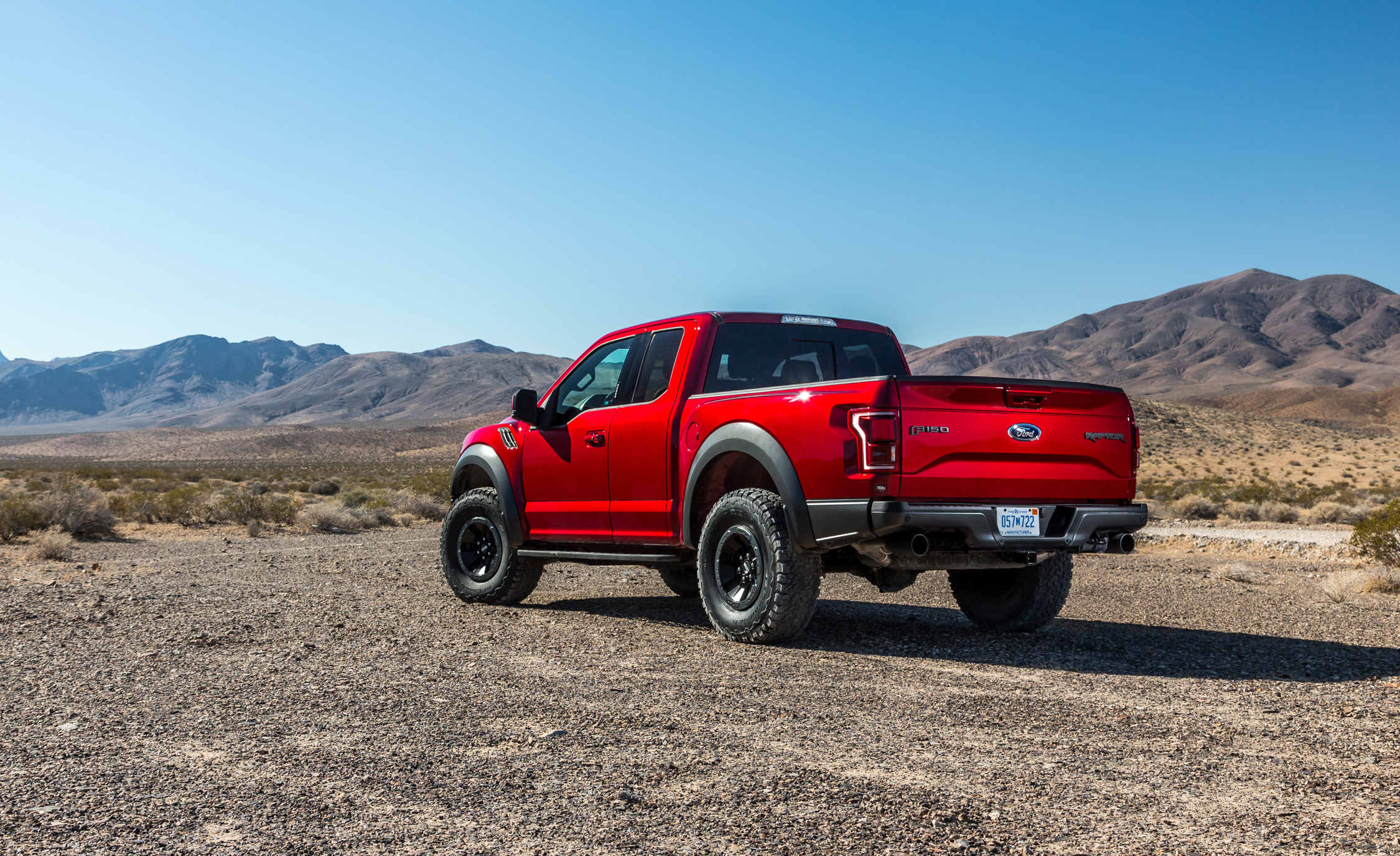 2017 Ford F 150 Raptor SuperCab Test Drive Rear And Side (View 35 of 47)