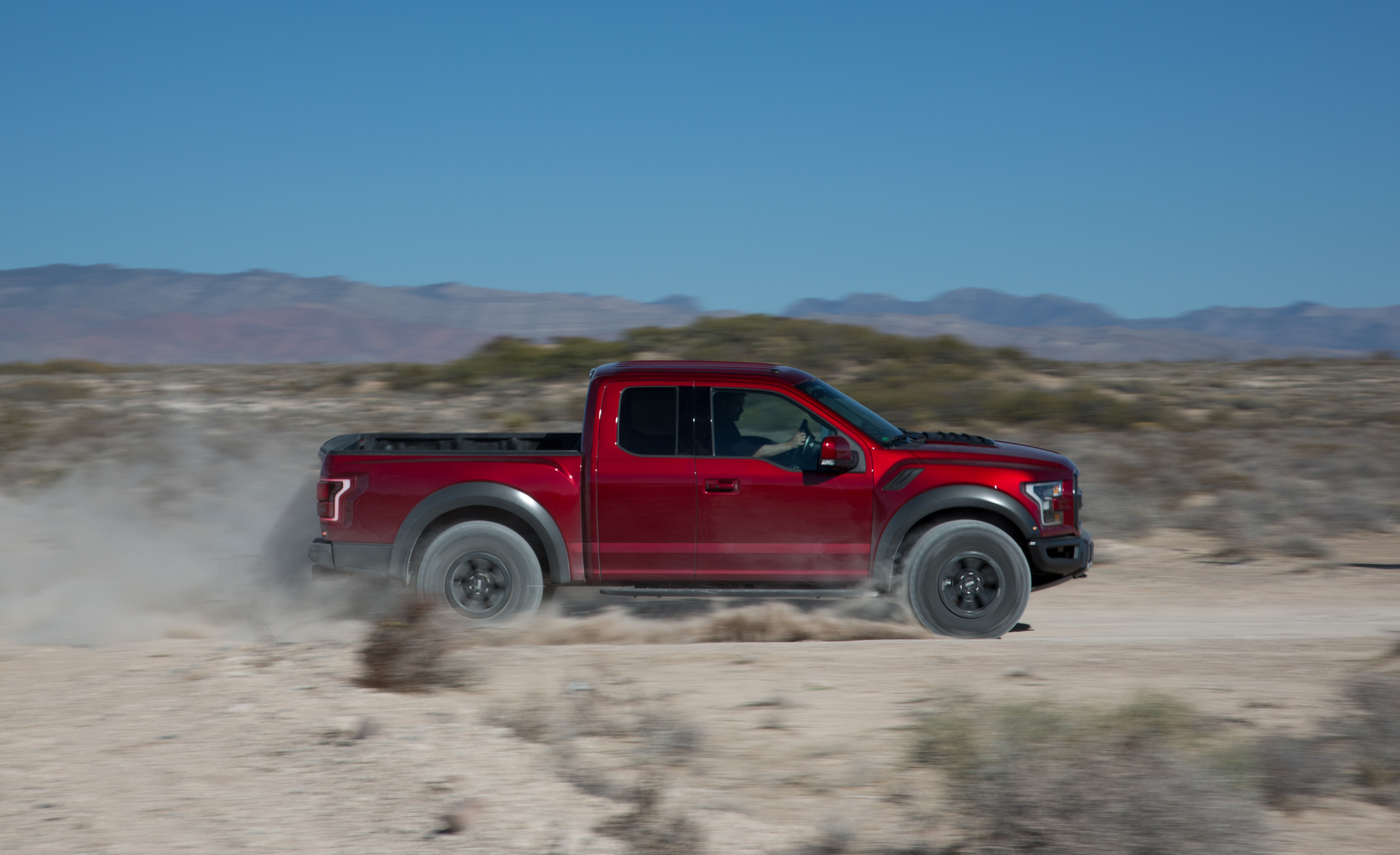 2017 Ford F 150 Raptor SuperCab Test Drive Side View (Photo 14 of 47)
