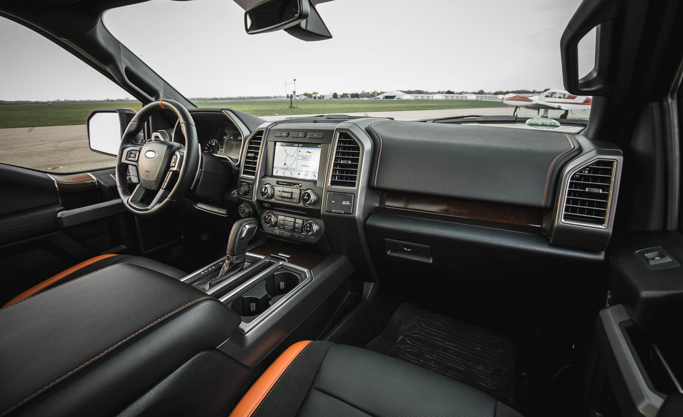 2017 Ford F 150 Raptor SuperCrew Interior Dashboard (View 21 of 47)