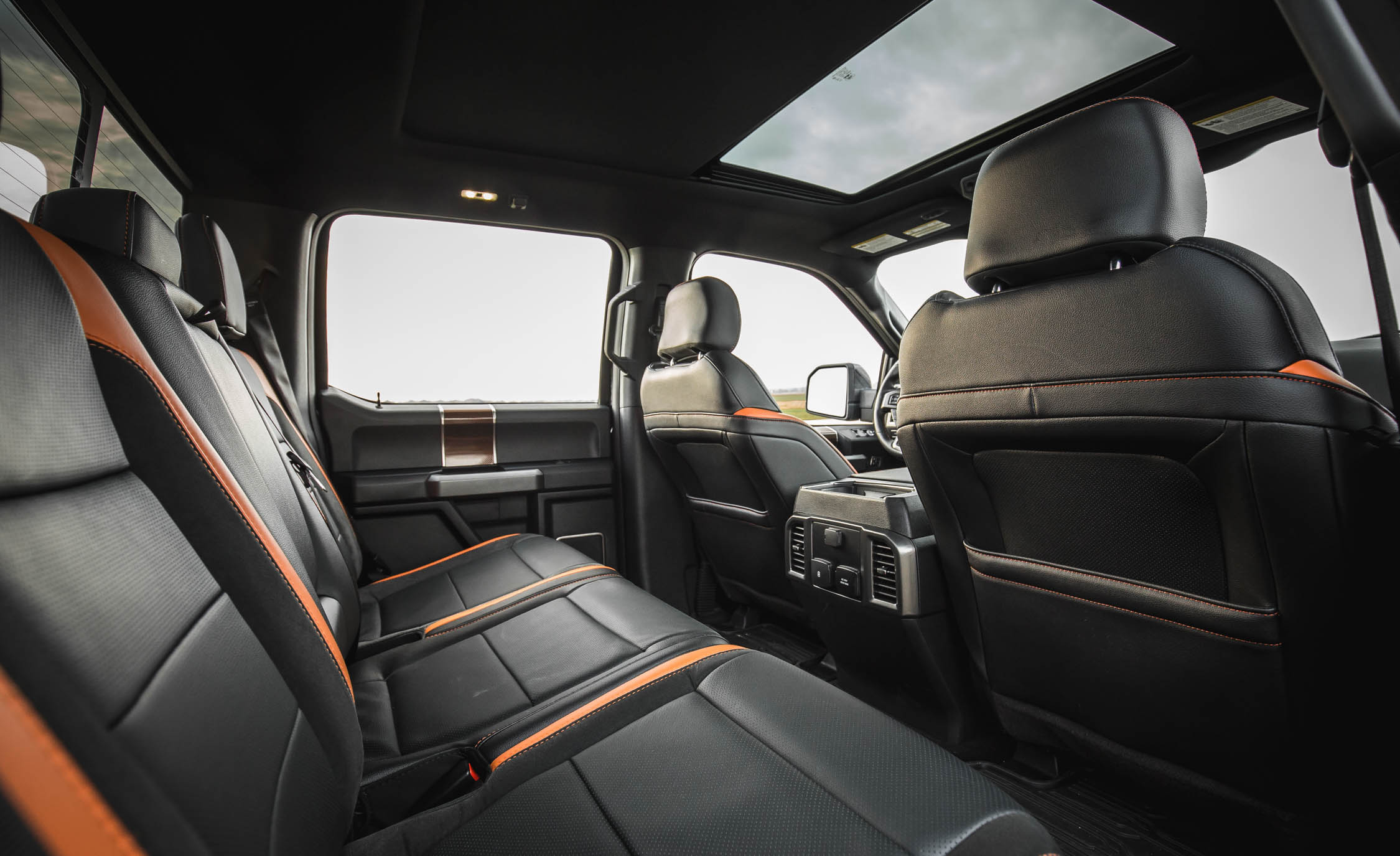 2017 Ford F 150 Raptor SuperCrew Interior Seats Rear Space (View 18 of 47)