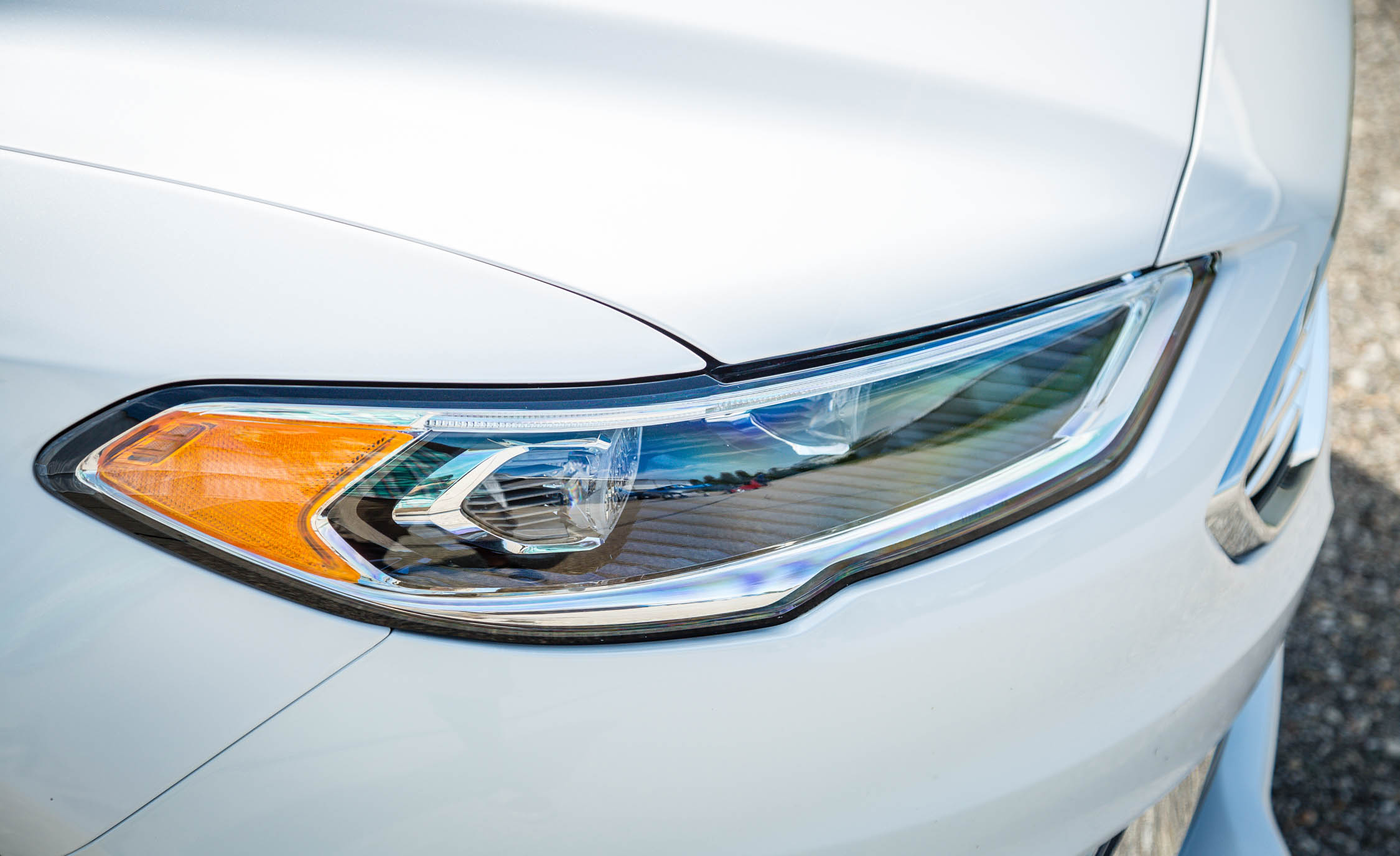2017 Ford Fusion Energi Titanium Exterior View Headlight (Photo 12 of 19)