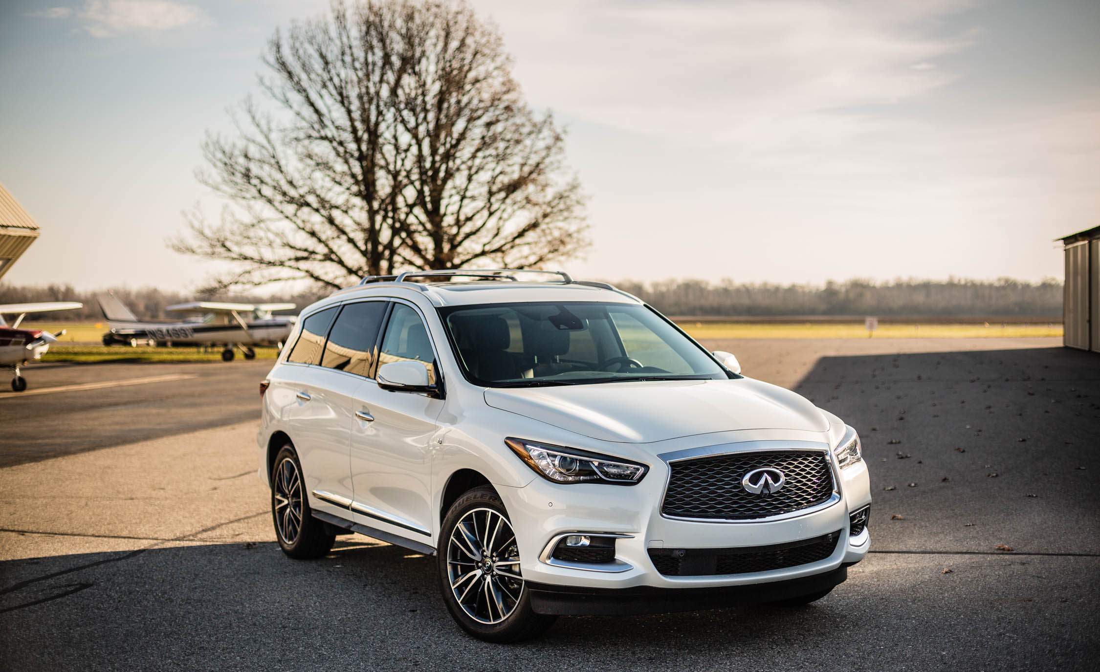 2017 Infiniti Qx60 White (Photo 5 of 12)