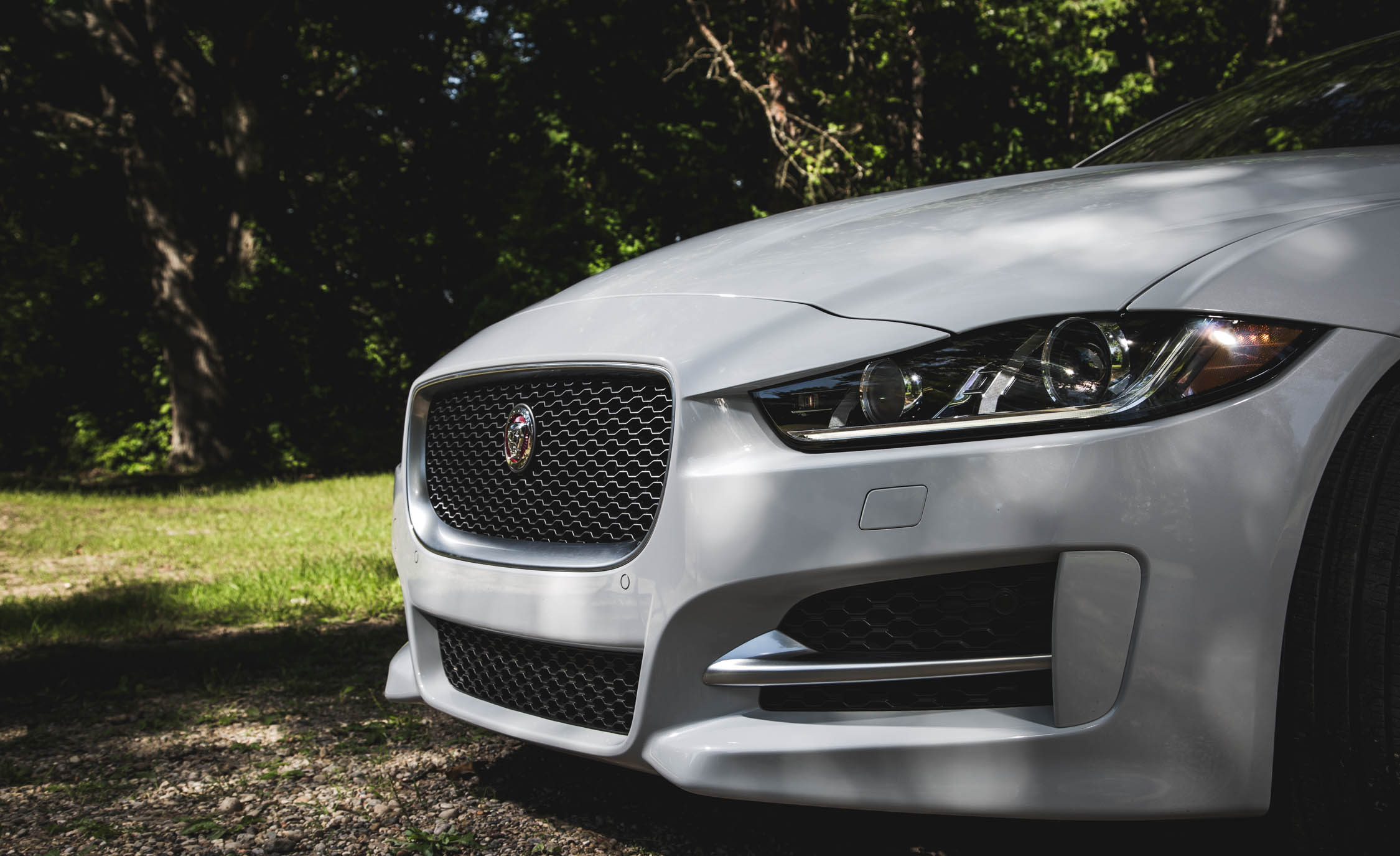 2017 Jaguar Xe White Exterior View Grille And Bumper (View 10 of 32)
