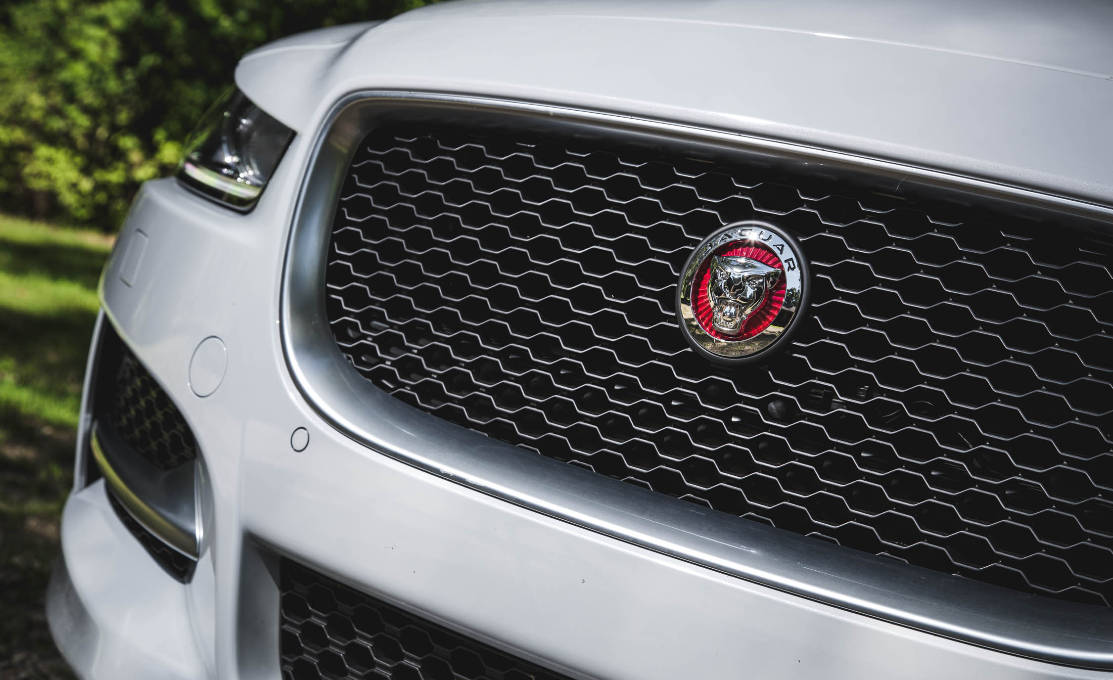 2017 Jaguar Xe White Exterior View Grille (Photo 25 of 32)