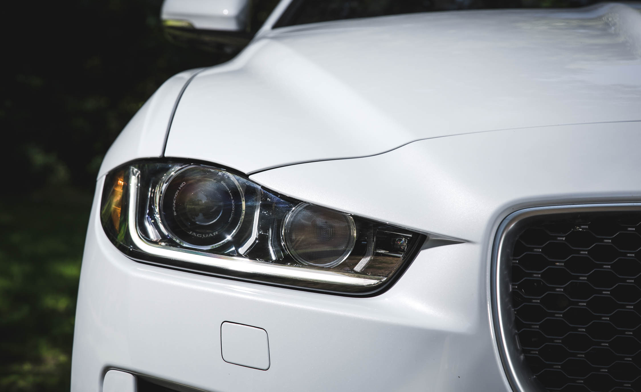 2017 Jaguar Xe White Exterior View Headlight (Photo 27 of 32)