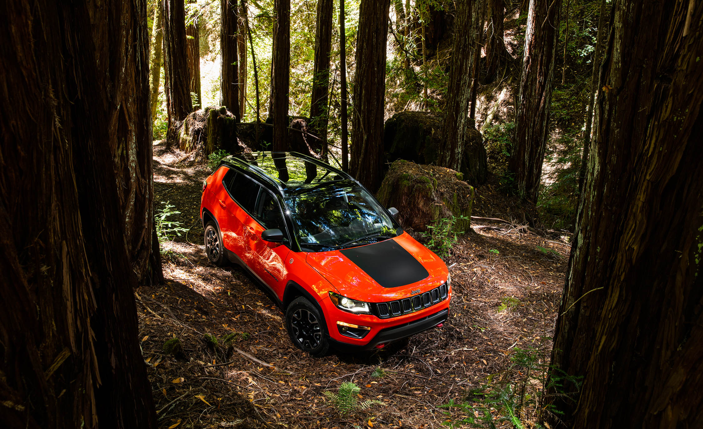 2017 Jeep Compass Trailhawk 4× (Photo 42 of 49)