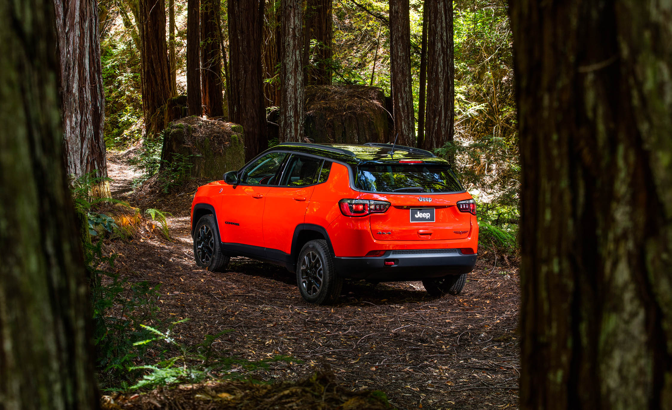 2017 Jeep Compass Trailhawk 4× (Photo 40 of 49)