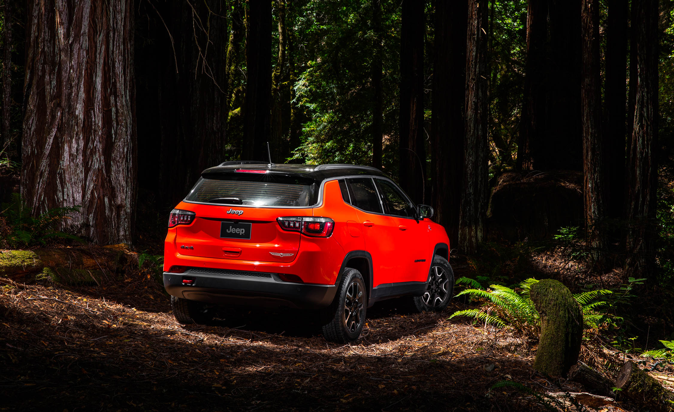 2017 Jeep Compass Trailhawk 4× (Photo 39 of 49)