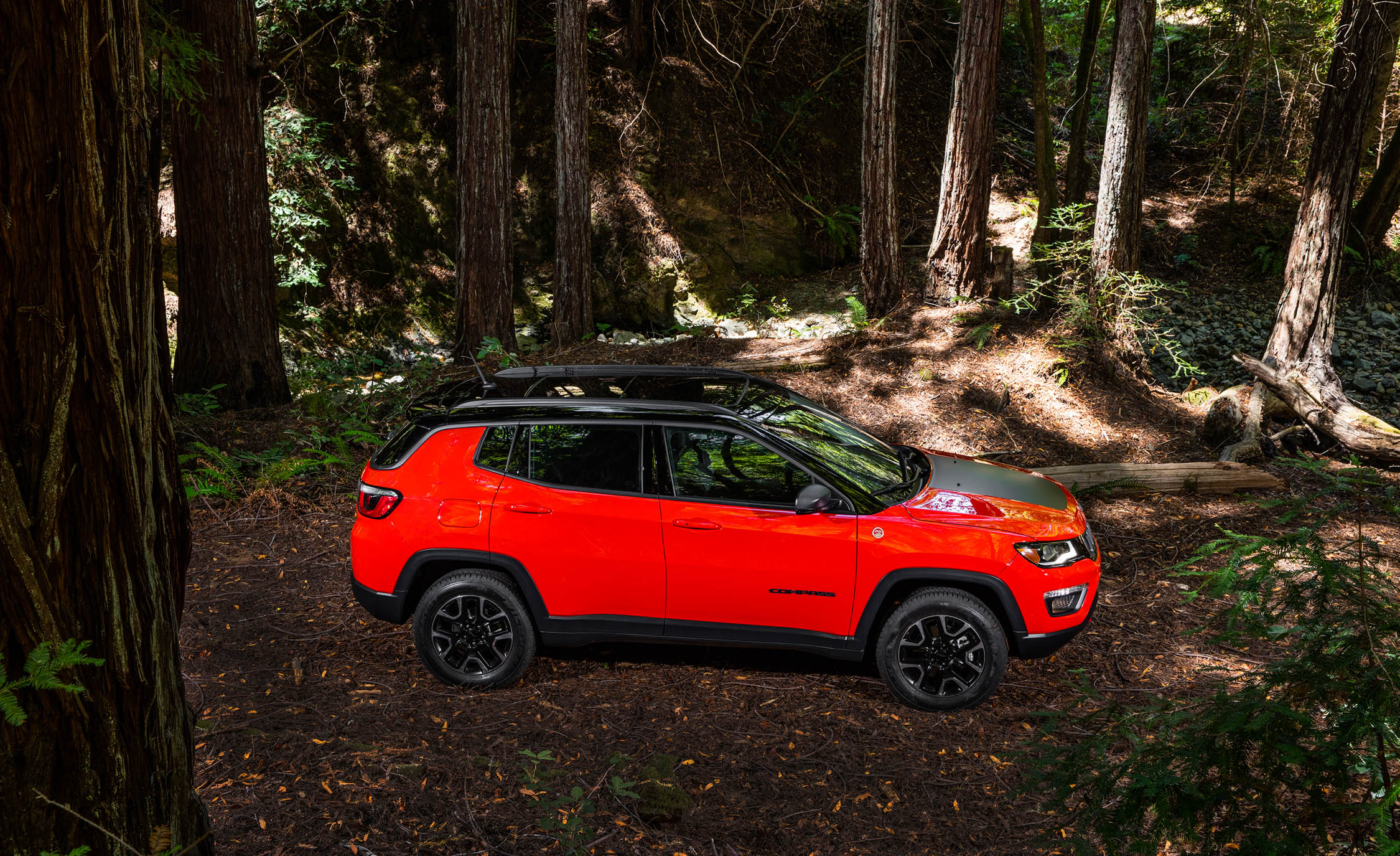 2017 Jeep Compass Trailhawk 4× (Photo 41 of 49)