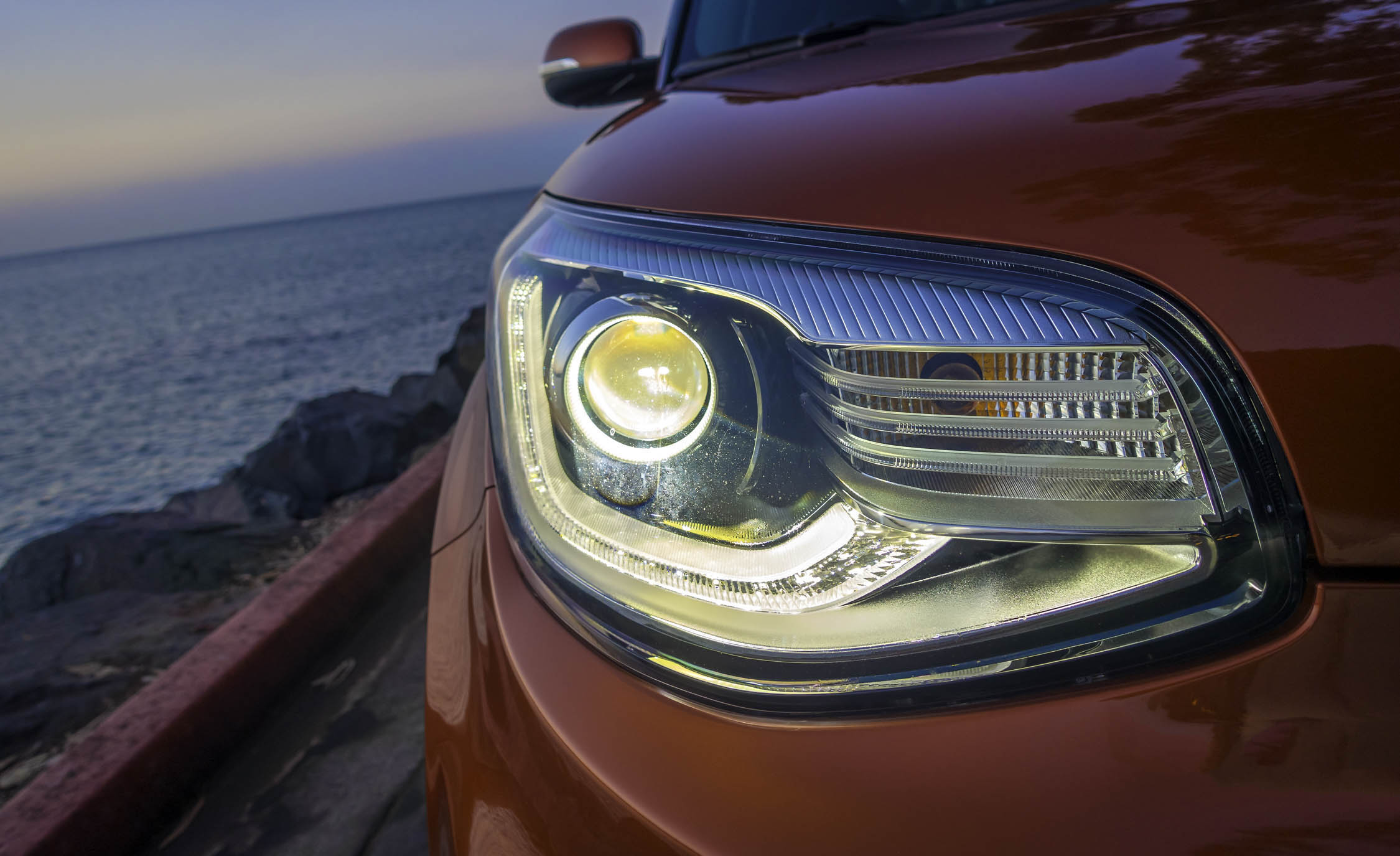 2017 Kia Soul Turbo Exterior View Headlight (View 10 of 15)