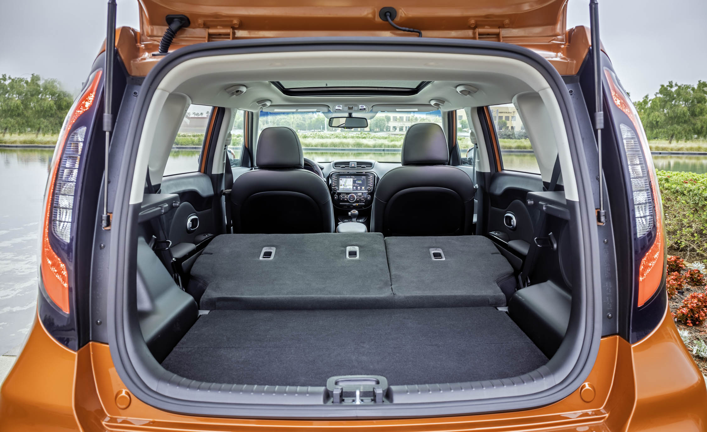 2017 Kia Soul Turbo Interior View Cargo (View 13 of 15)