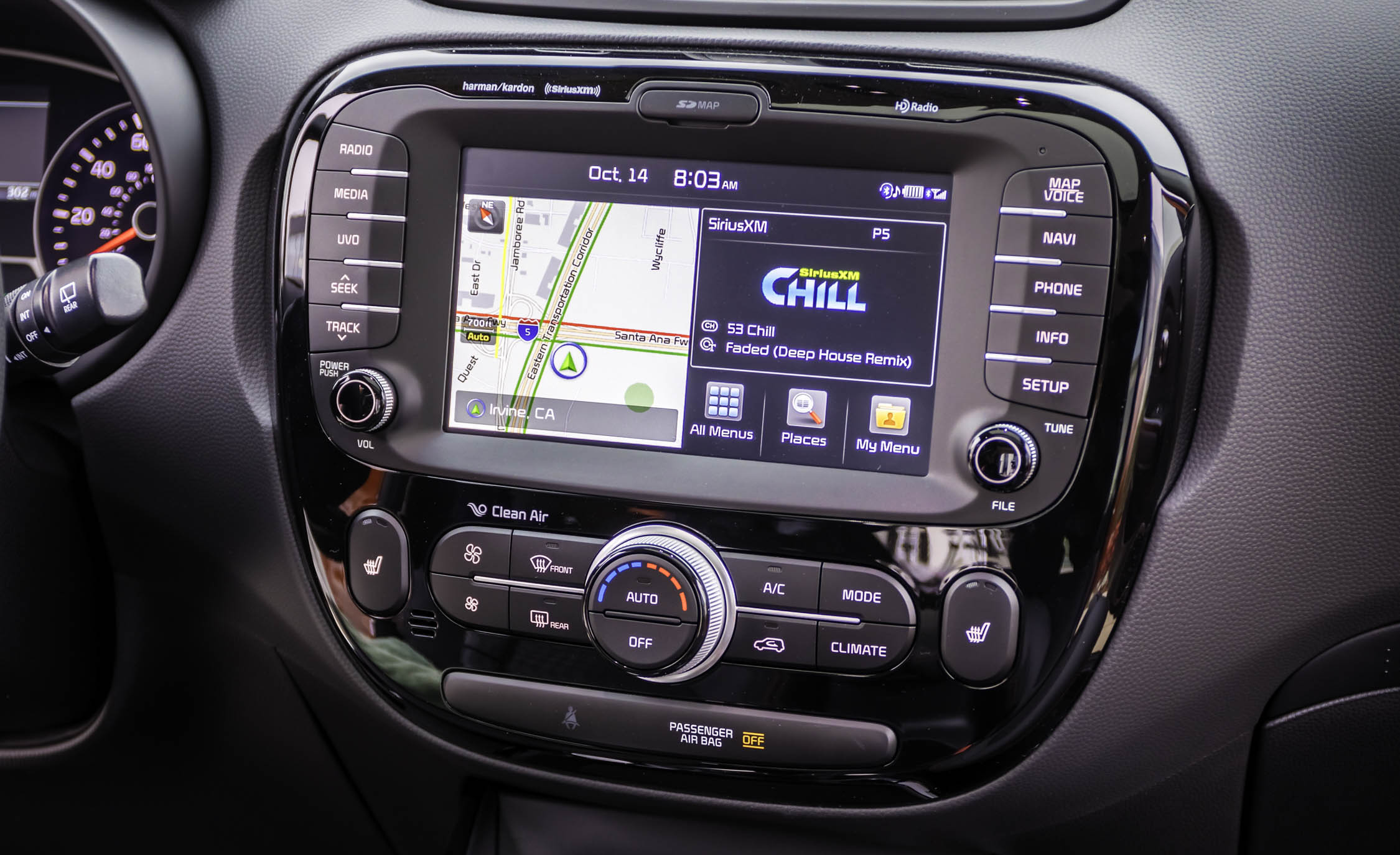 2017 Kia Soul Turbo Interior View Head Unit And Multimedia (View 12 of 15)