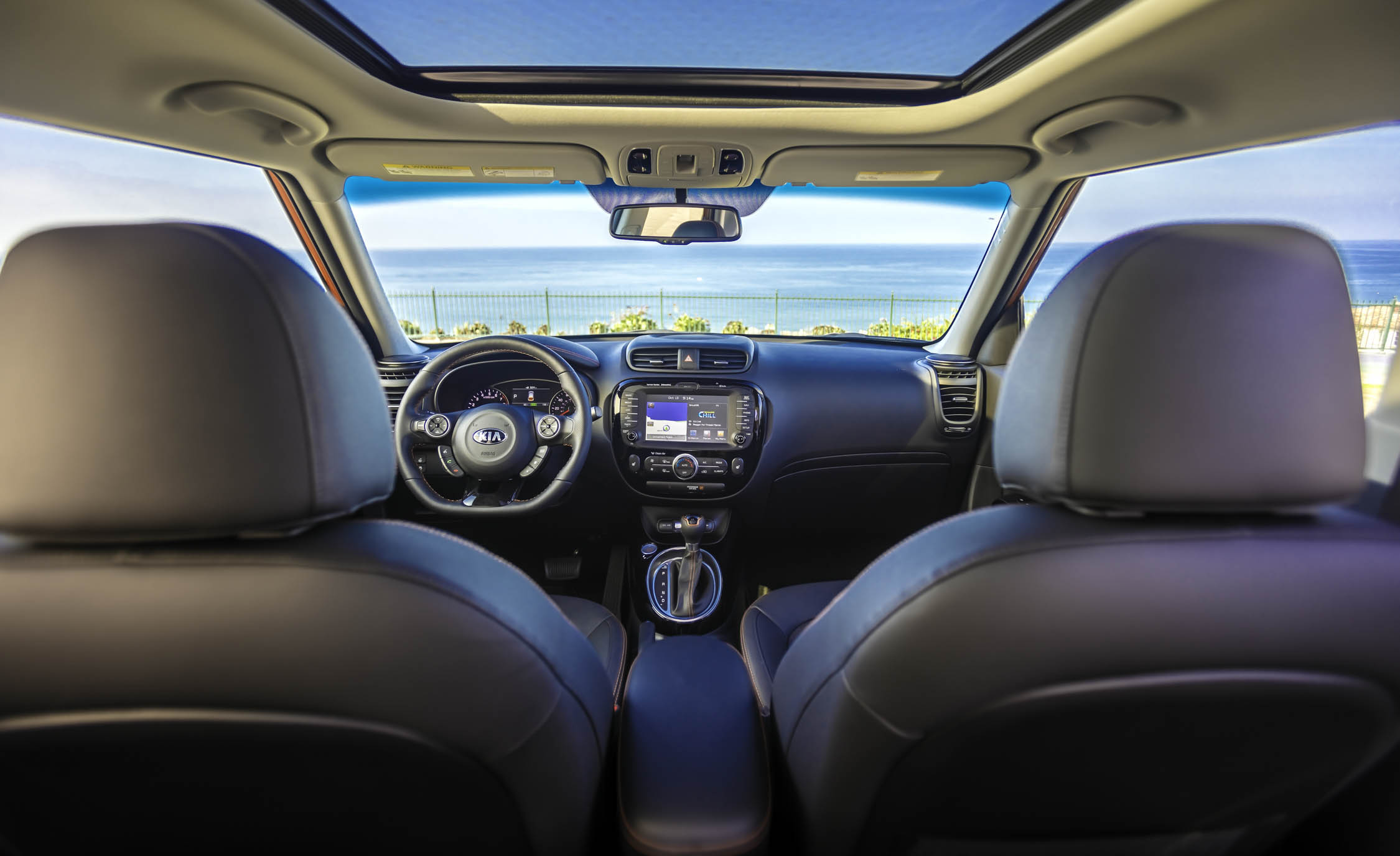 2017 Kia Soul Turbo Interior (View 8 of 15)