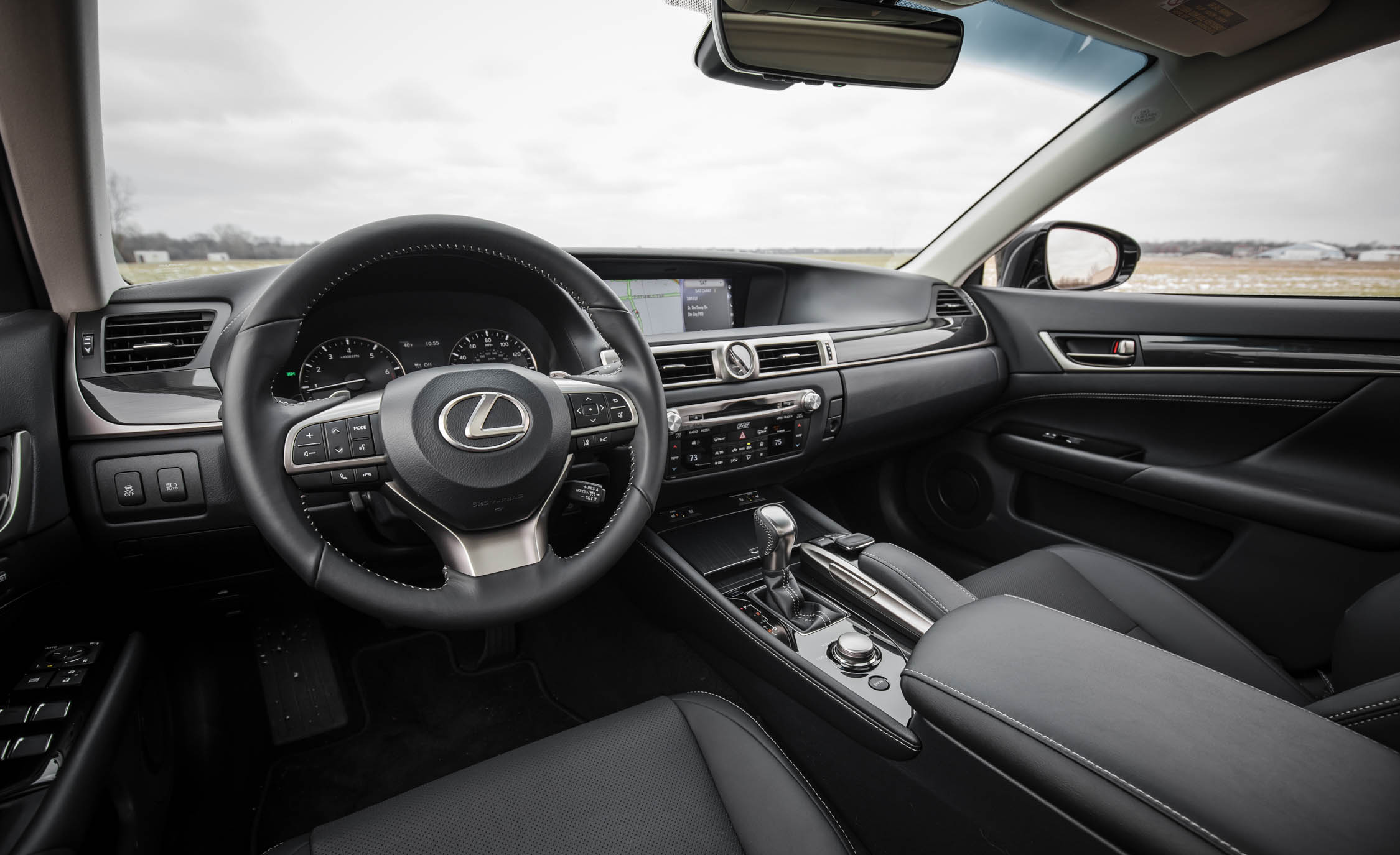 2017 Lexus GS200t Interior Cockpit And Dash (Photo 16 of 26)