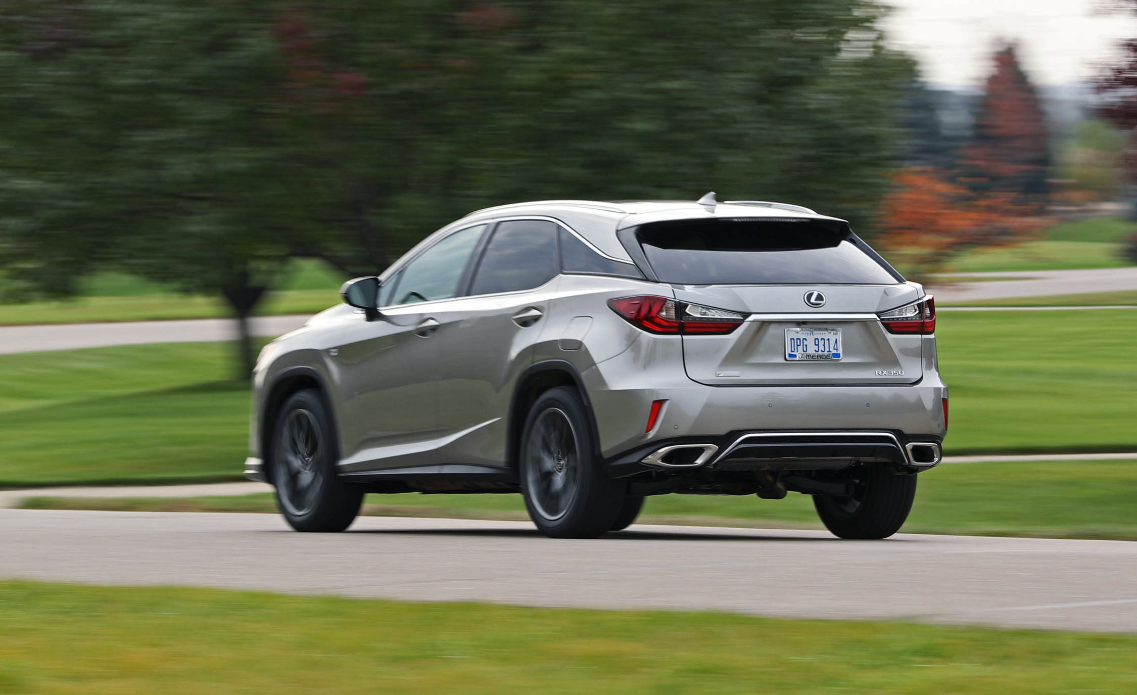 2017 Lexus RX350 F Sport (View 25 of 35)