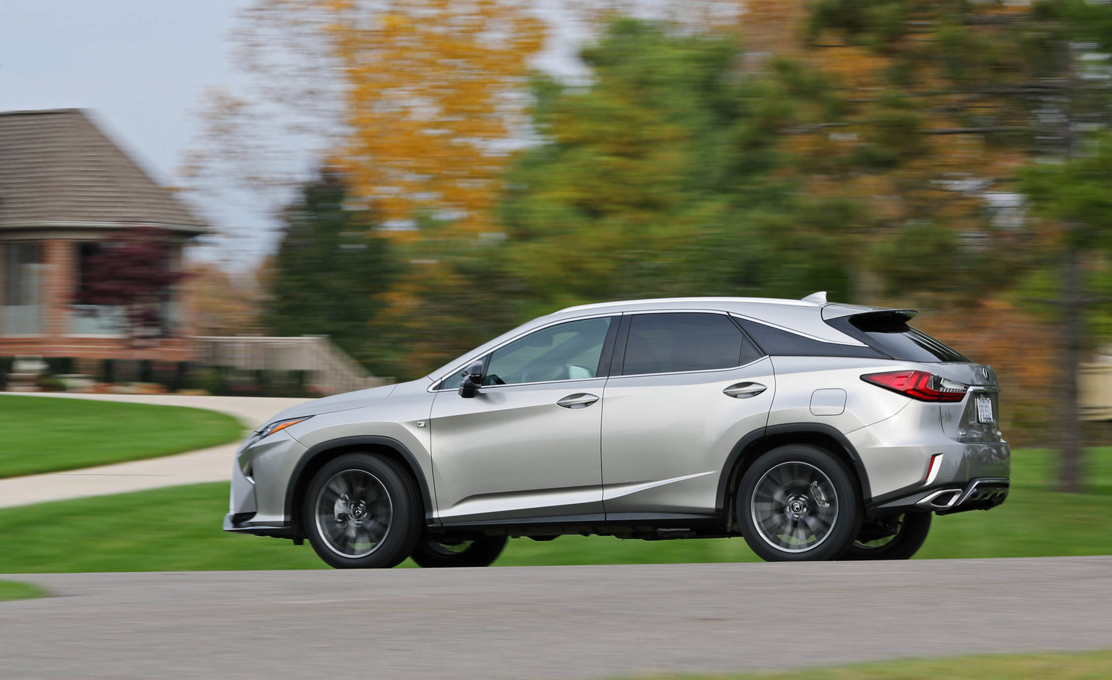 2017 Lexus RX350 F Sport (View 28 of 35)