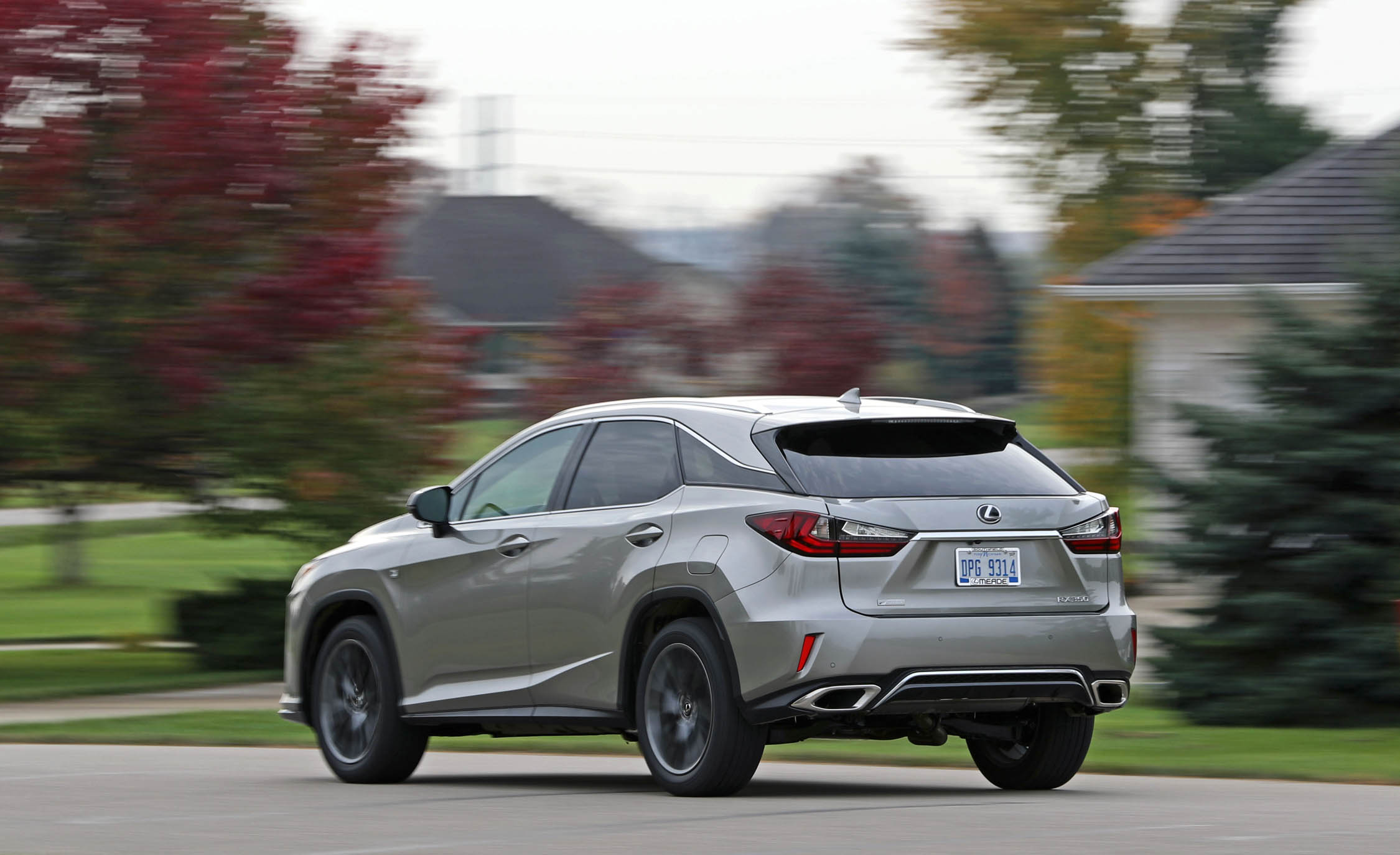 2017 Lexus RX350 F Sport (View 26 of 35)