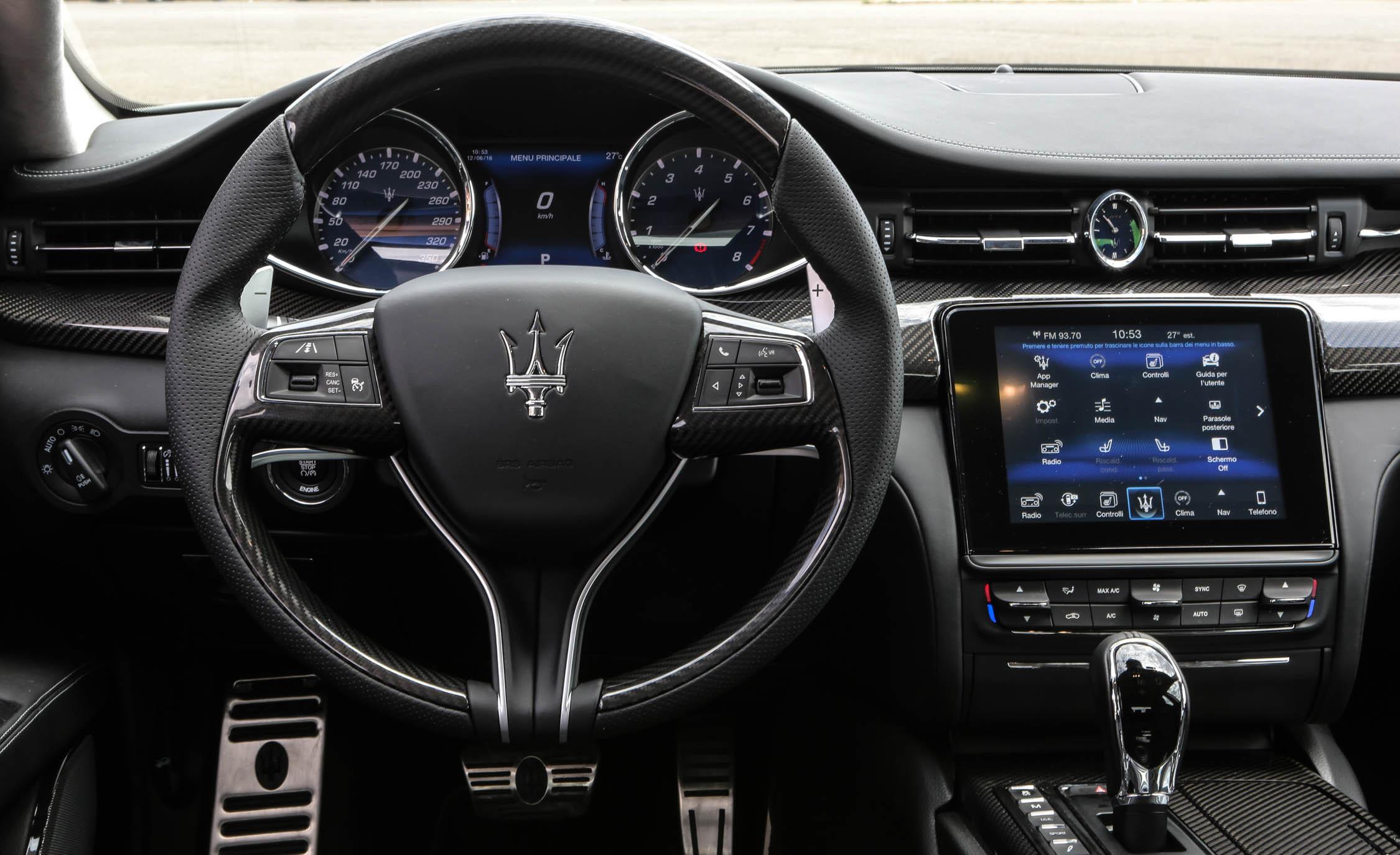 2017 Maserati Quattroporte GTS GranSport (Photo 31 of 55)