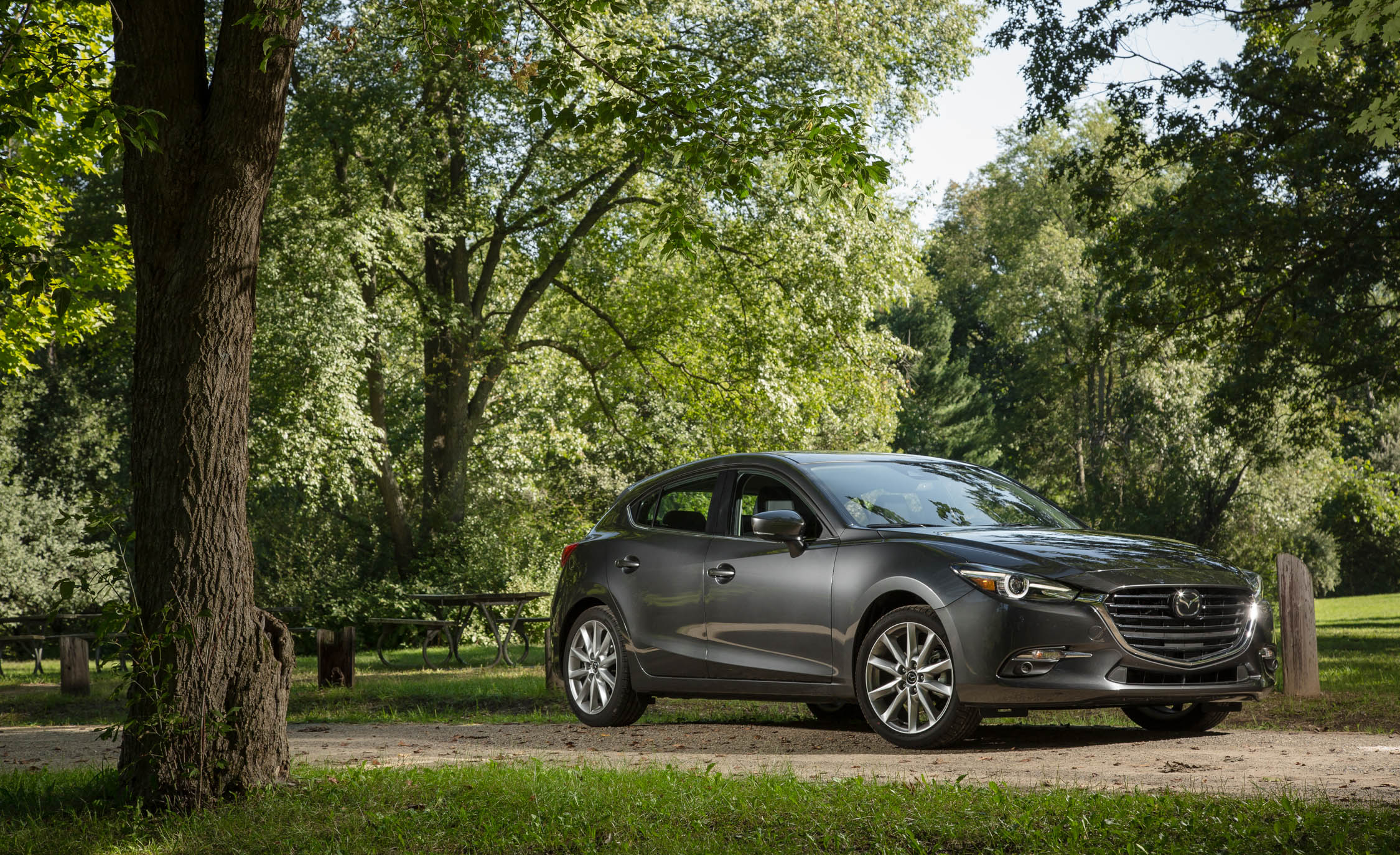 2017 Mazda3 Hatchback Exterior Front And Side View (Photo 26 of 40)