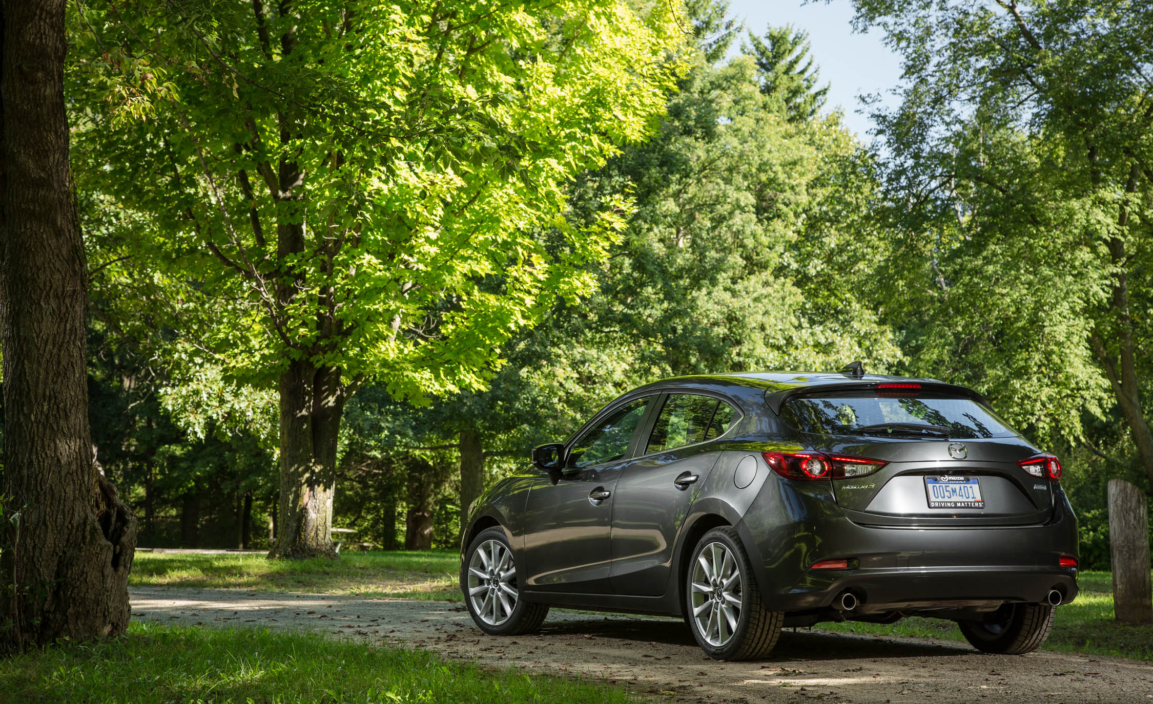 2017 Mazda3 Hatchback Exterior Rear And Side View (Photo 27 of 40)