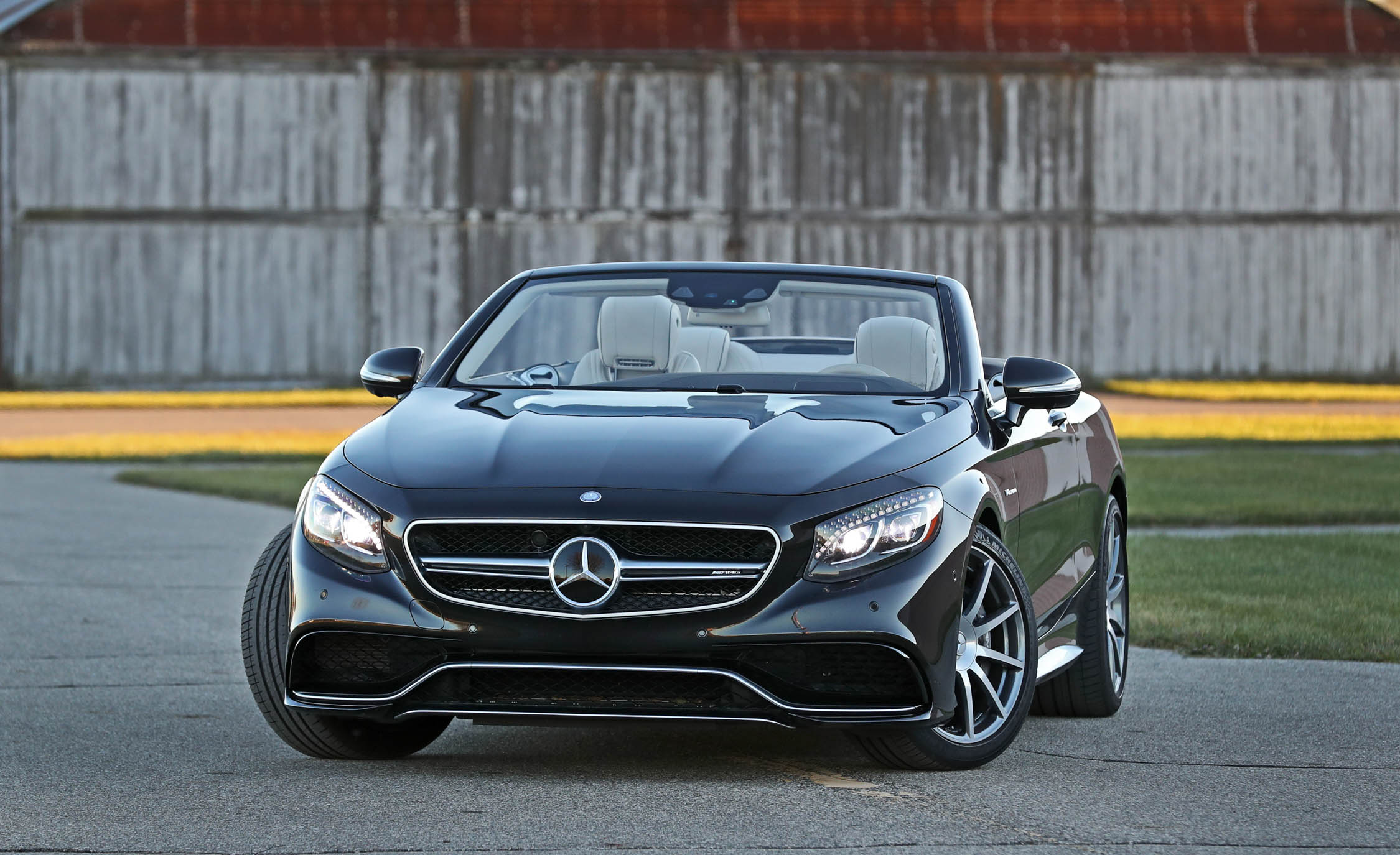 2017 Mercedes Amg S63 Cabriolet Exterior Front (Photo 3 of 38)