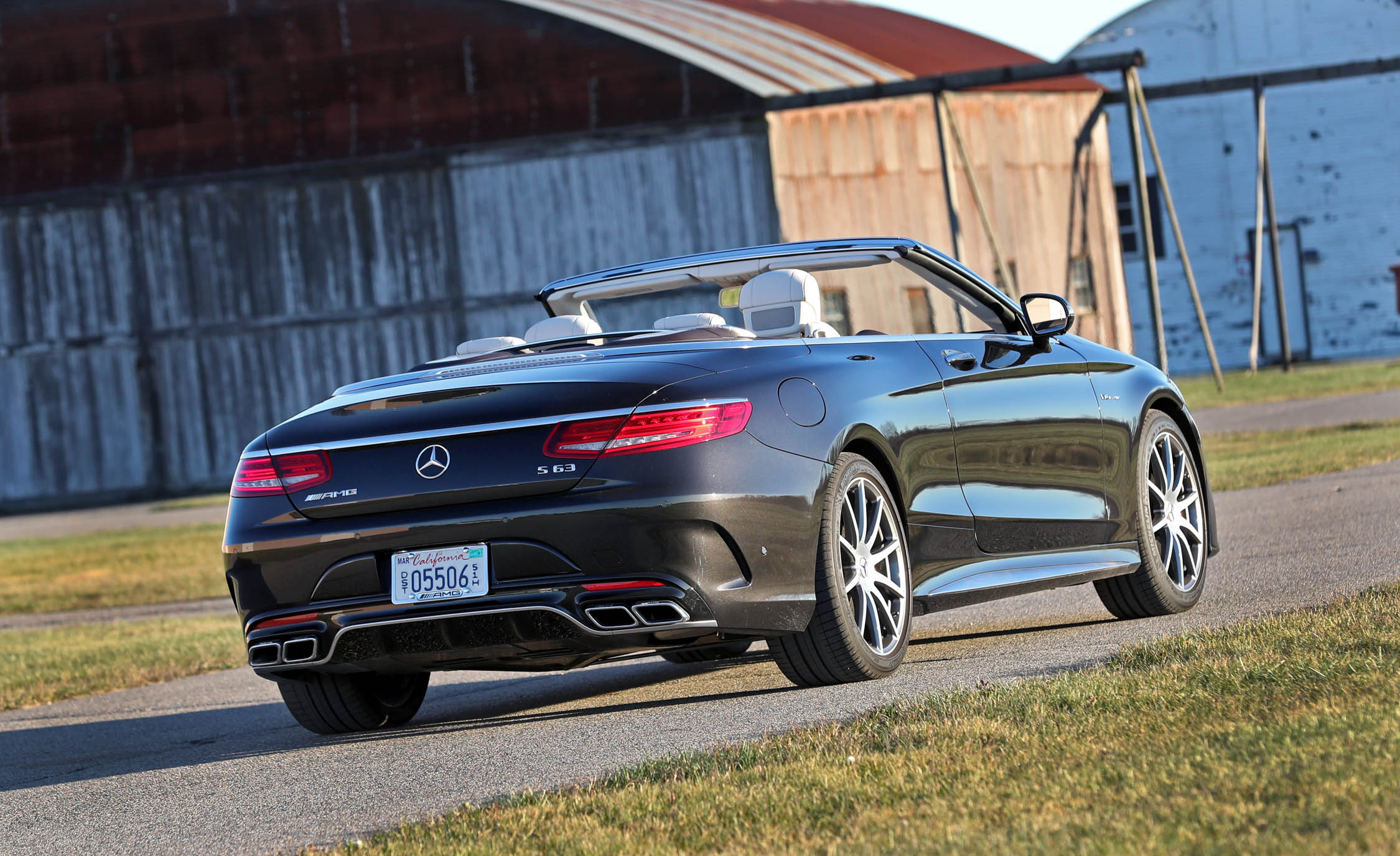 2017 Mercedes Amg S63 Cabriolet Exterior Rear Corner (Photo 9 of 38)
