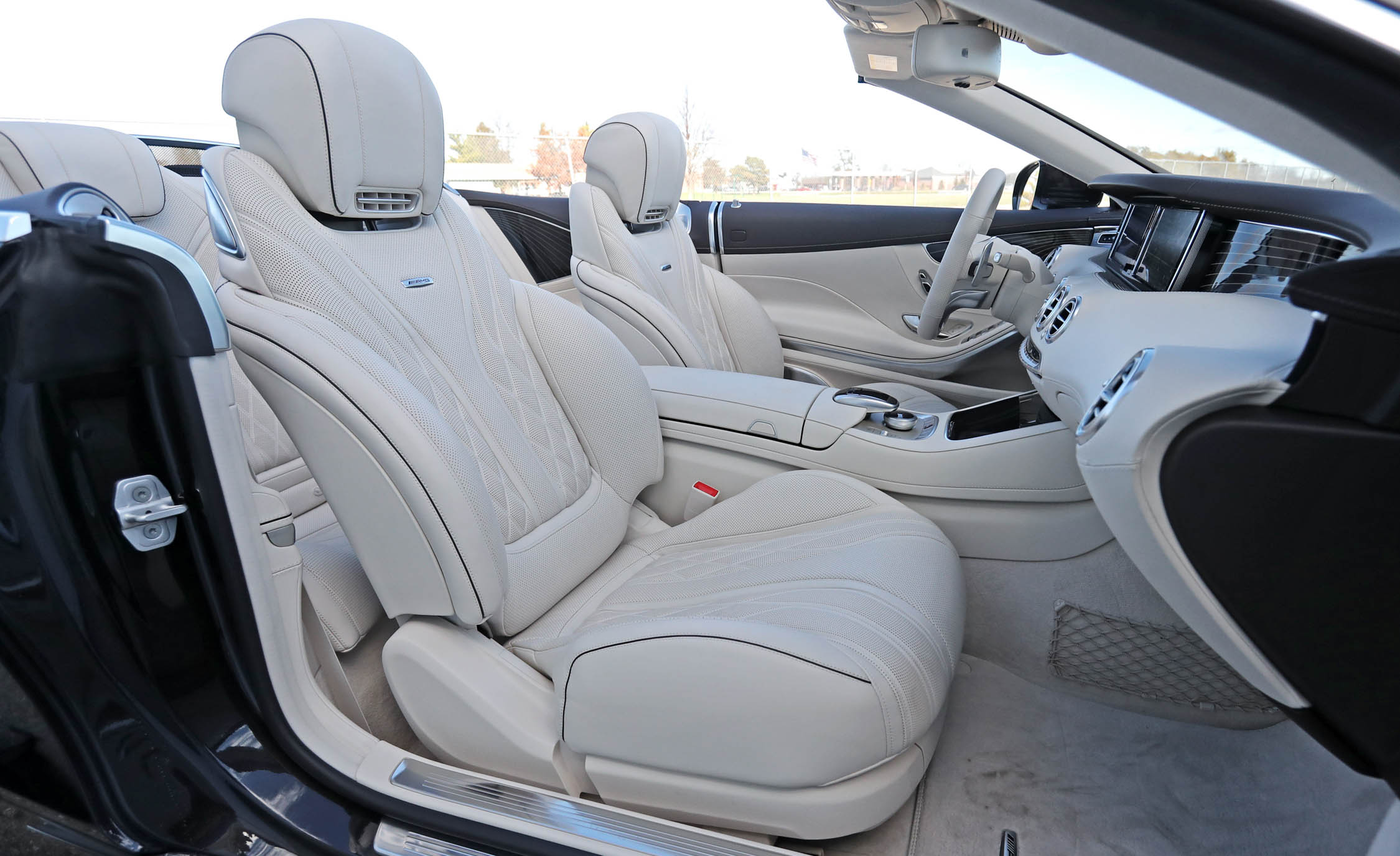 2017 Mercedes Amg S63 Cabriolet Interior Seats Front (Photo 17 of 38)