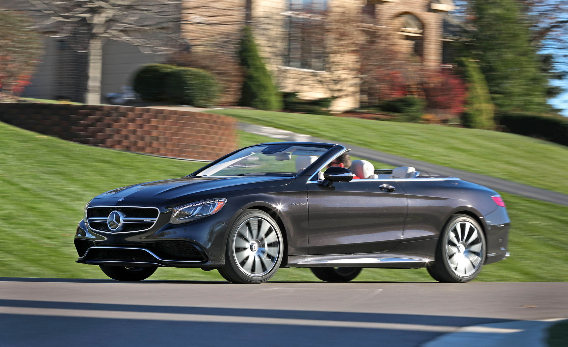 2017 Mercedes Amg S63 Cabriolet Test Drive Front And Side View (Photo 26 of 38)