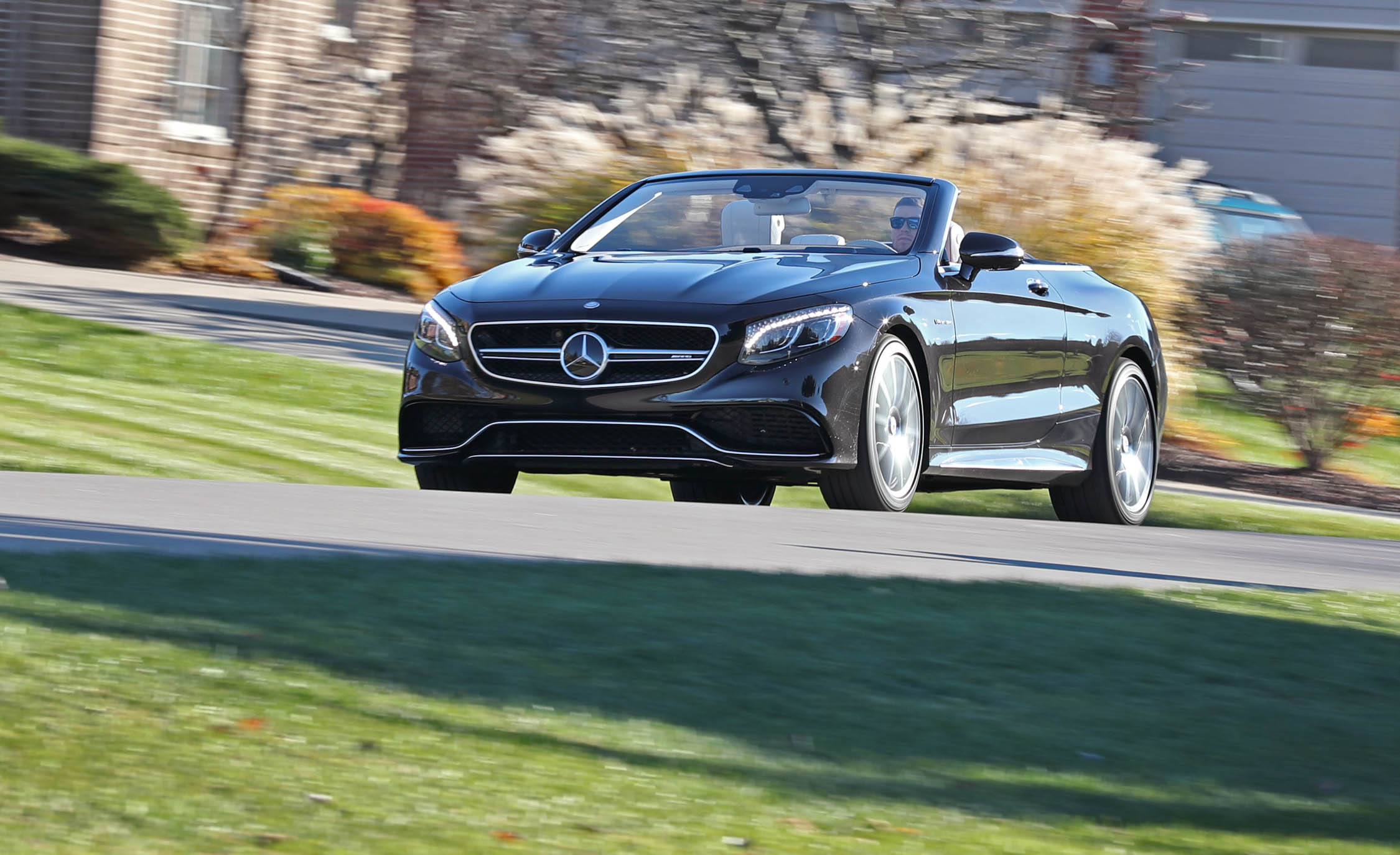 2017 Mercedes Amg S63 Cabriolet Test Drive Front View (Photo 28 of 38)