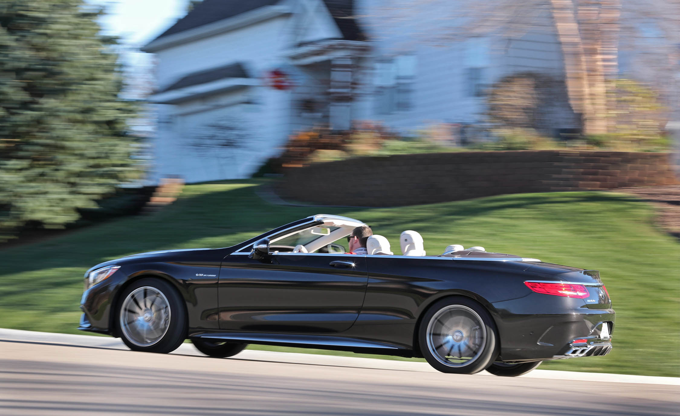 2017 Mercedes Amg S63 Cabriolet Test Drive Rear And Side View (Photo 31 of 38)