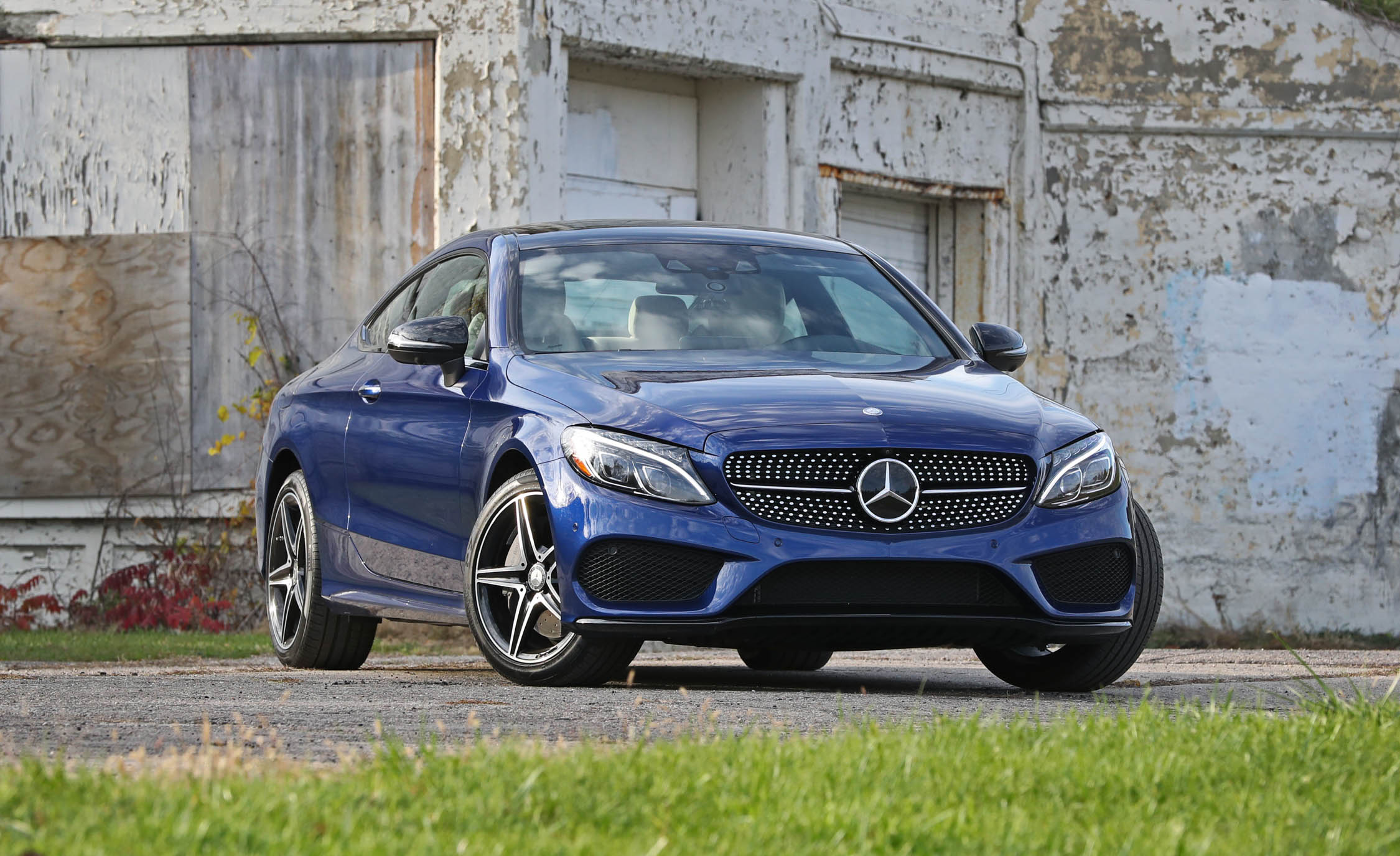2017 Mercedes Benz C300 4MATIC Coupe Exterior Front Preview (View 44 of 44)