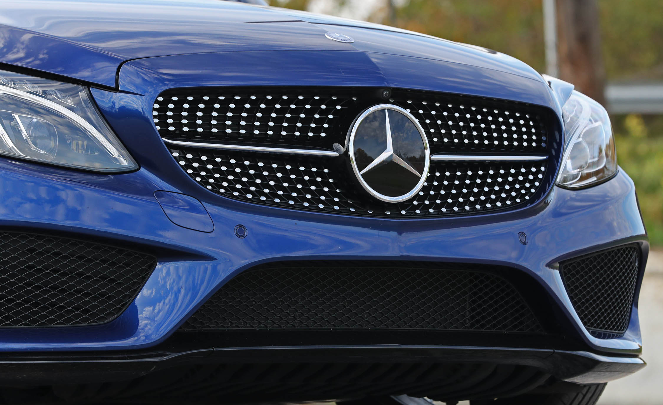 2017 Mercedes Benz C300 4MATIC Coupe Exterior View Grille And Bumper (View 31 of 44)